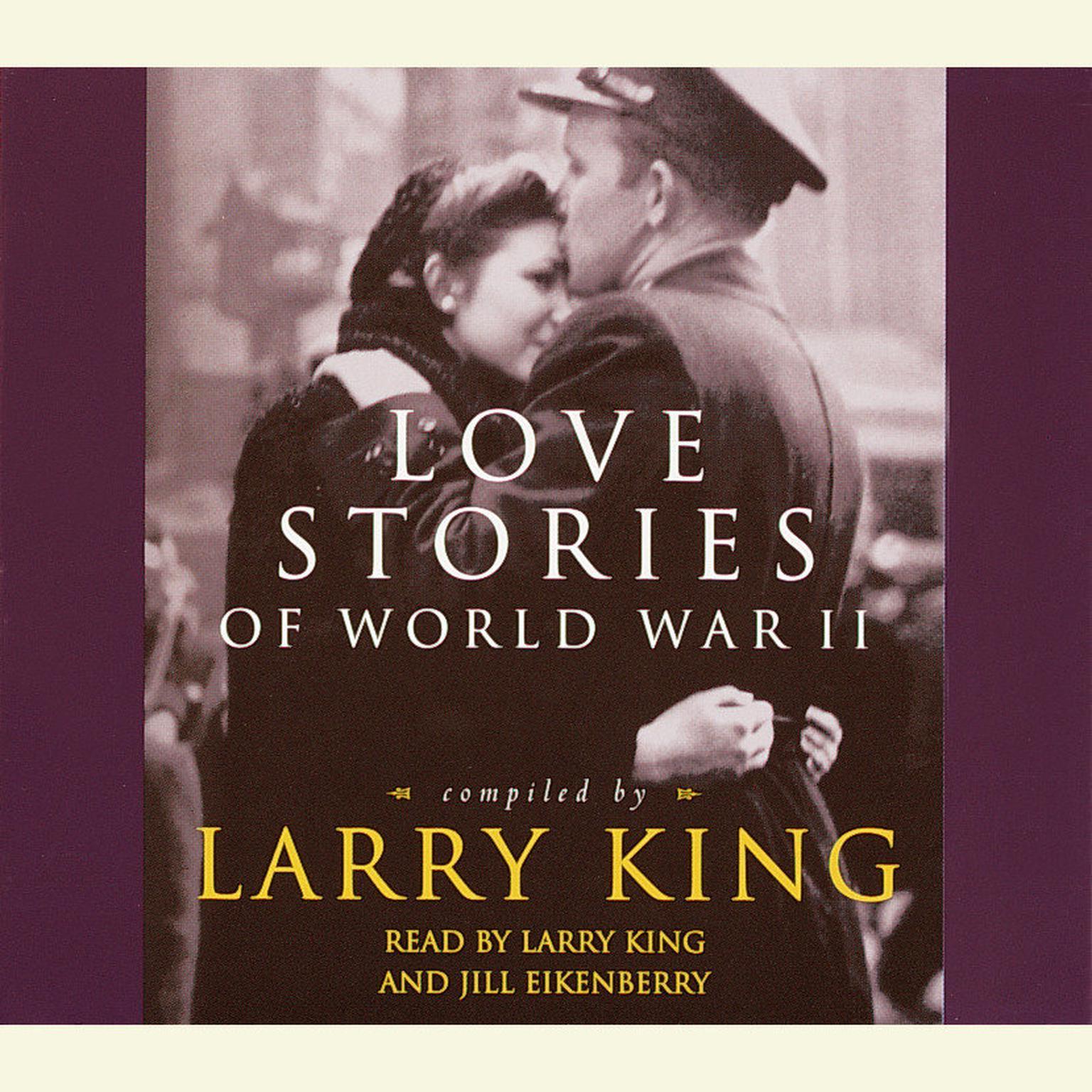 Printable Love Stories of World War II Audiobook Cover Art