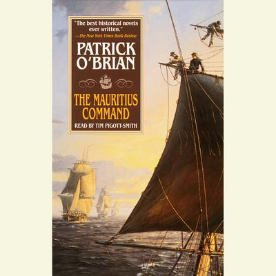 The Mauritius Command Audiobook, by Patrick O'Brian