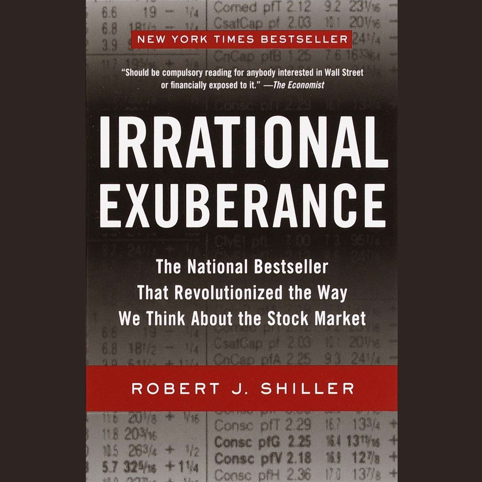 Printable Irrational Exuberance Audiobook Cover Art