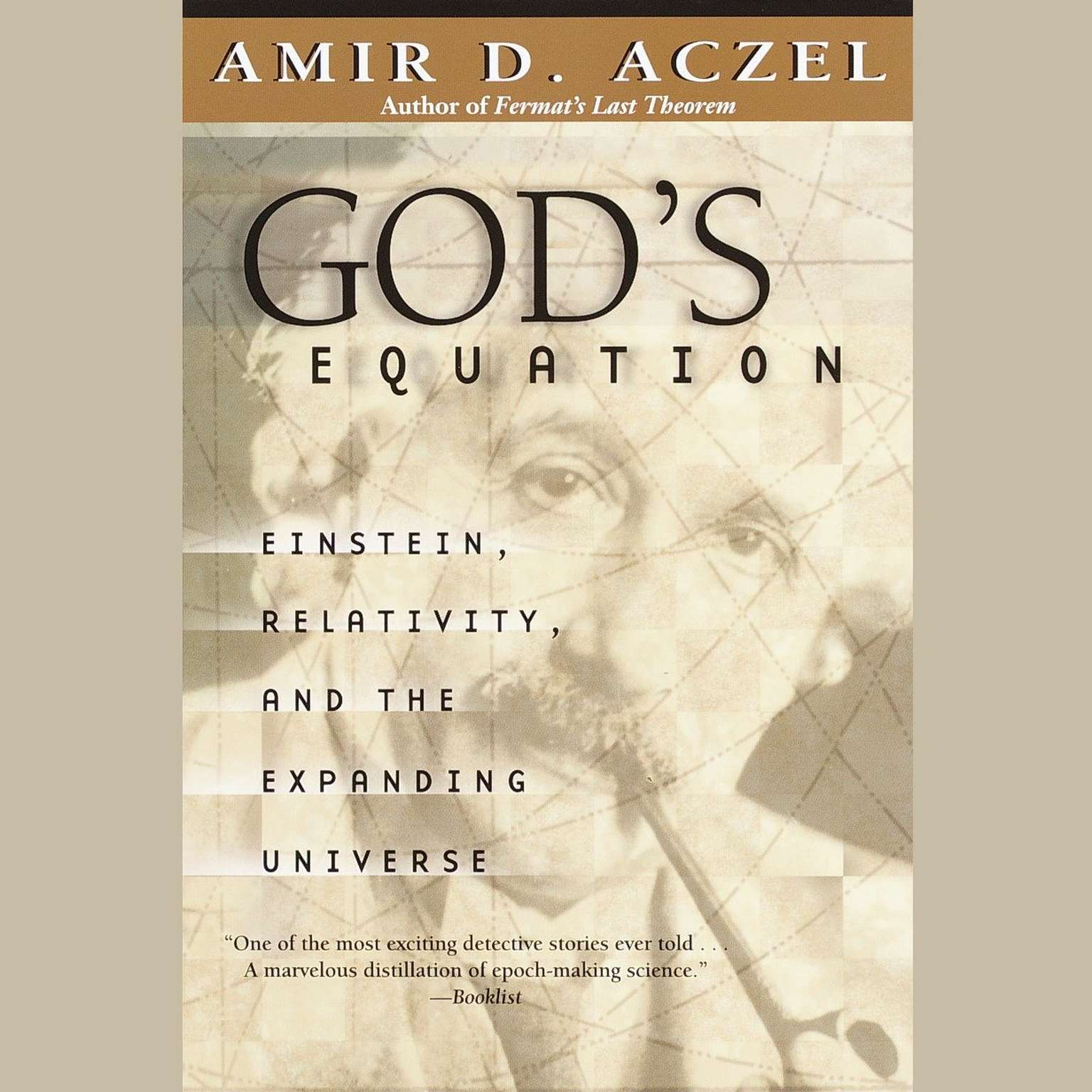 Printable God's Equation: Einstein, Relativity, and the Expanding Universe Audiobook Cover Art