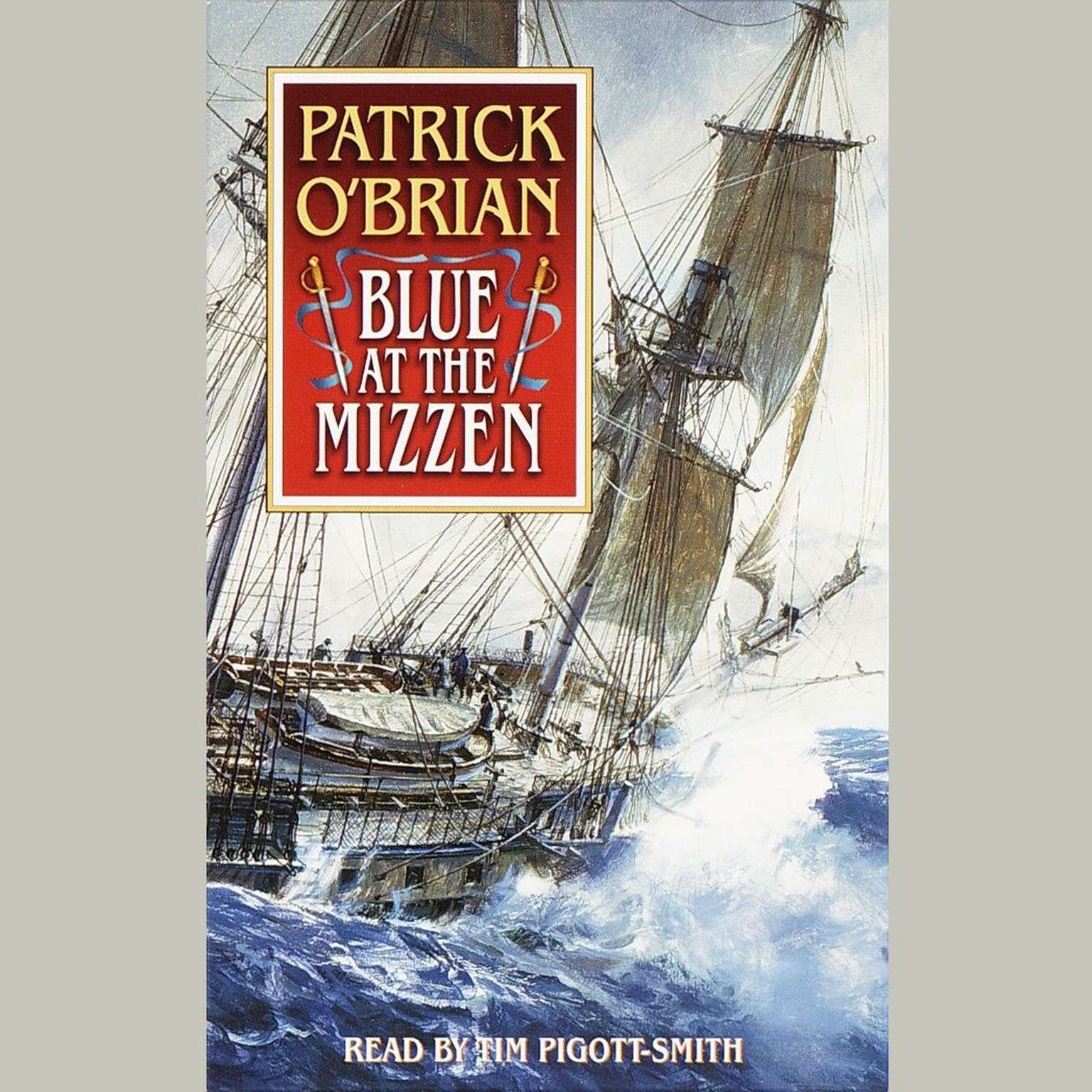 Printable Blue at the Mizzen Audiobook Cover Art