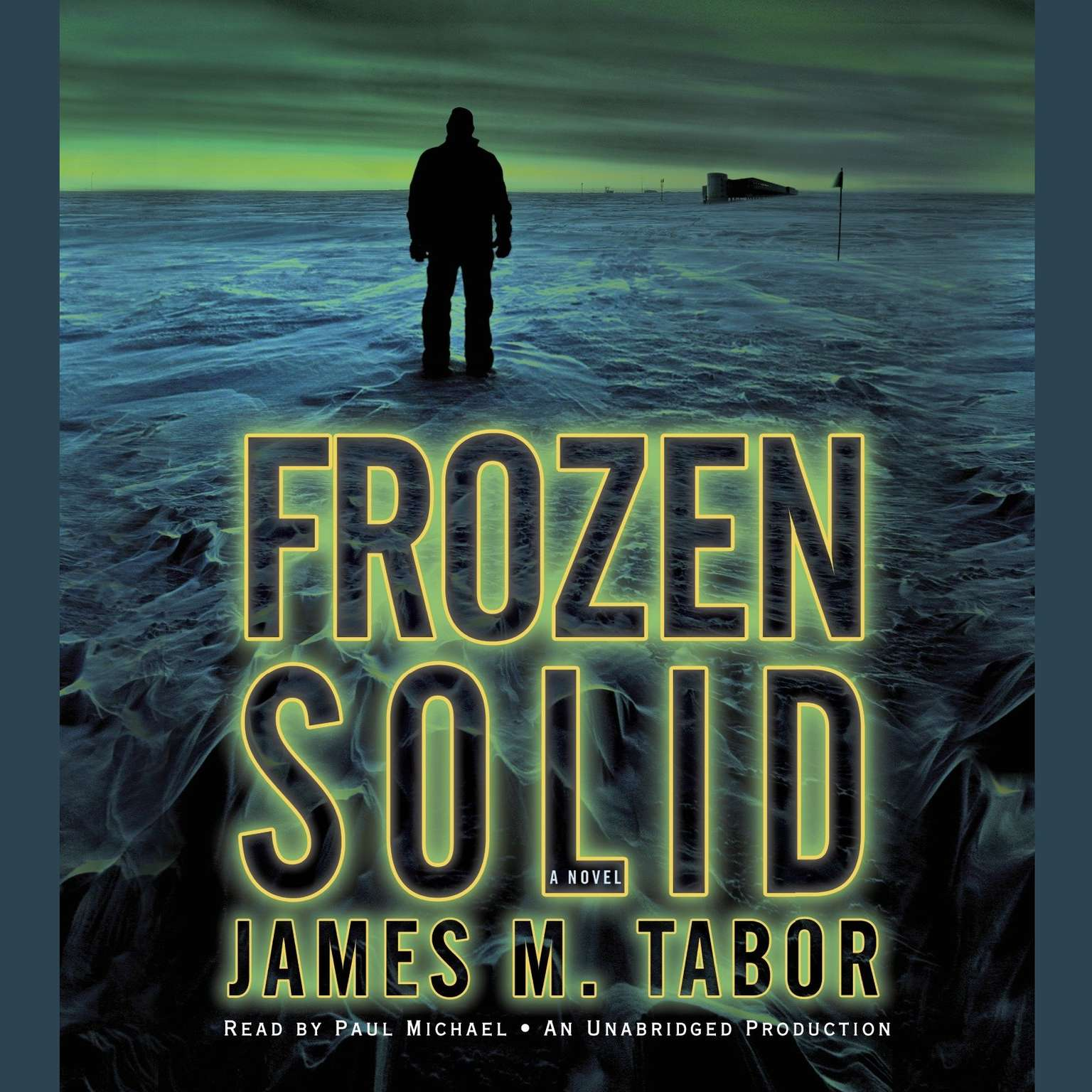 Printable Frozen Solid: A Novel Audiobook Cover Art