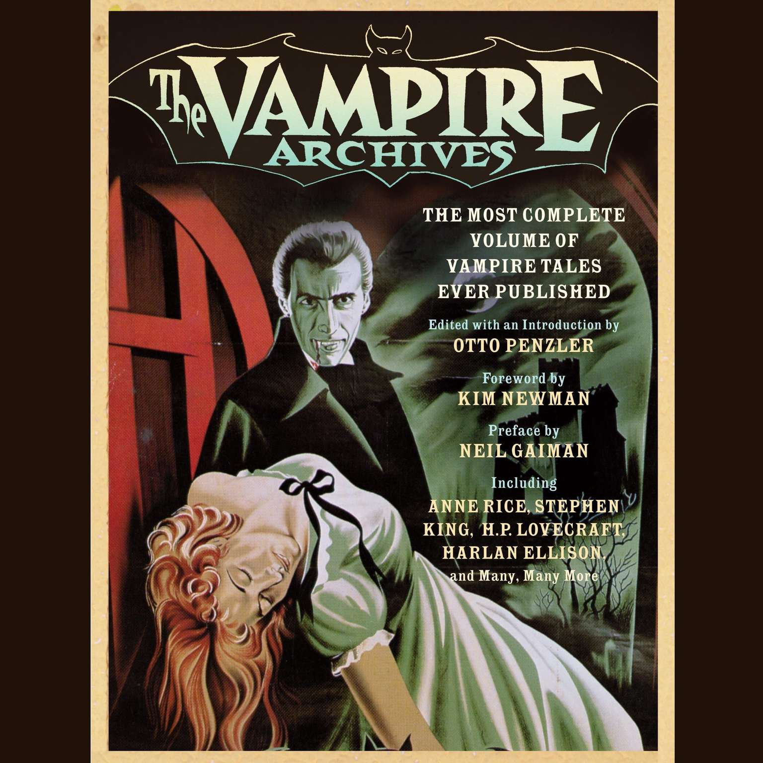Printable The Vampire Archives: The Most Complete Volume of Vampire Tales Ever Published Audiobook Cover Art