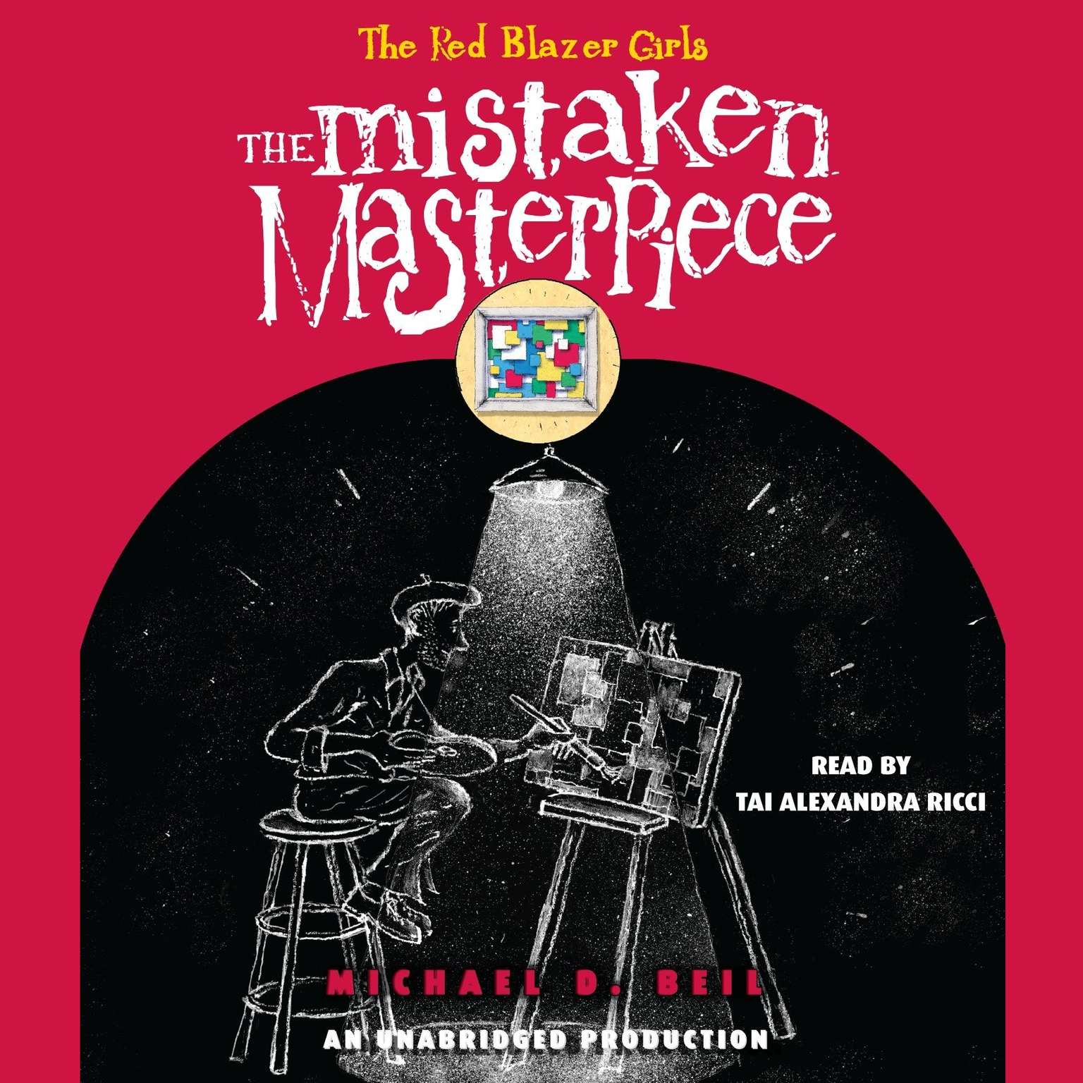 Printable The Red Blazer Girls: The Mistaken Masterpiece Audiobook Cover Art