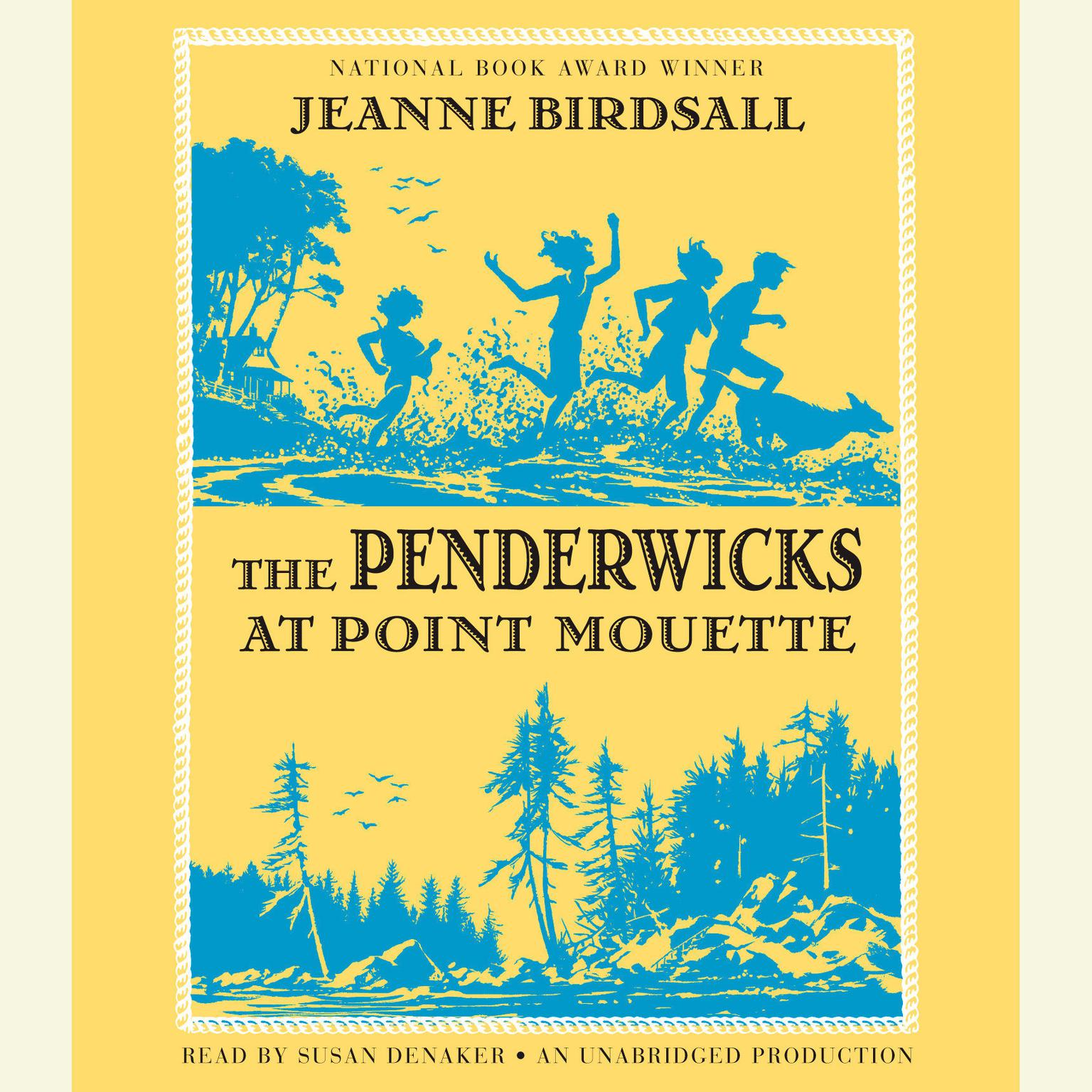 Printable The Penderwicks at Point Mouette Audiobook Cover Art