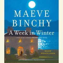 A Week in Winter Audiobook, by Maeve Binchy