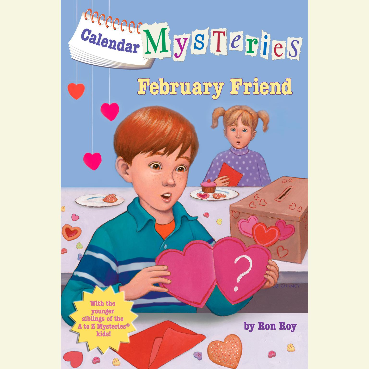Printable Calendar Mysteries #2: February Friend Audiobook Cover Art