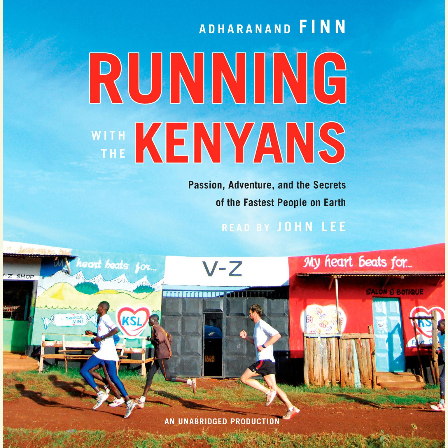 Printable Running with the Kenyans: Passion, Adventure, and the Secrets of the Fastest People on Earth Audiobook Cover Art