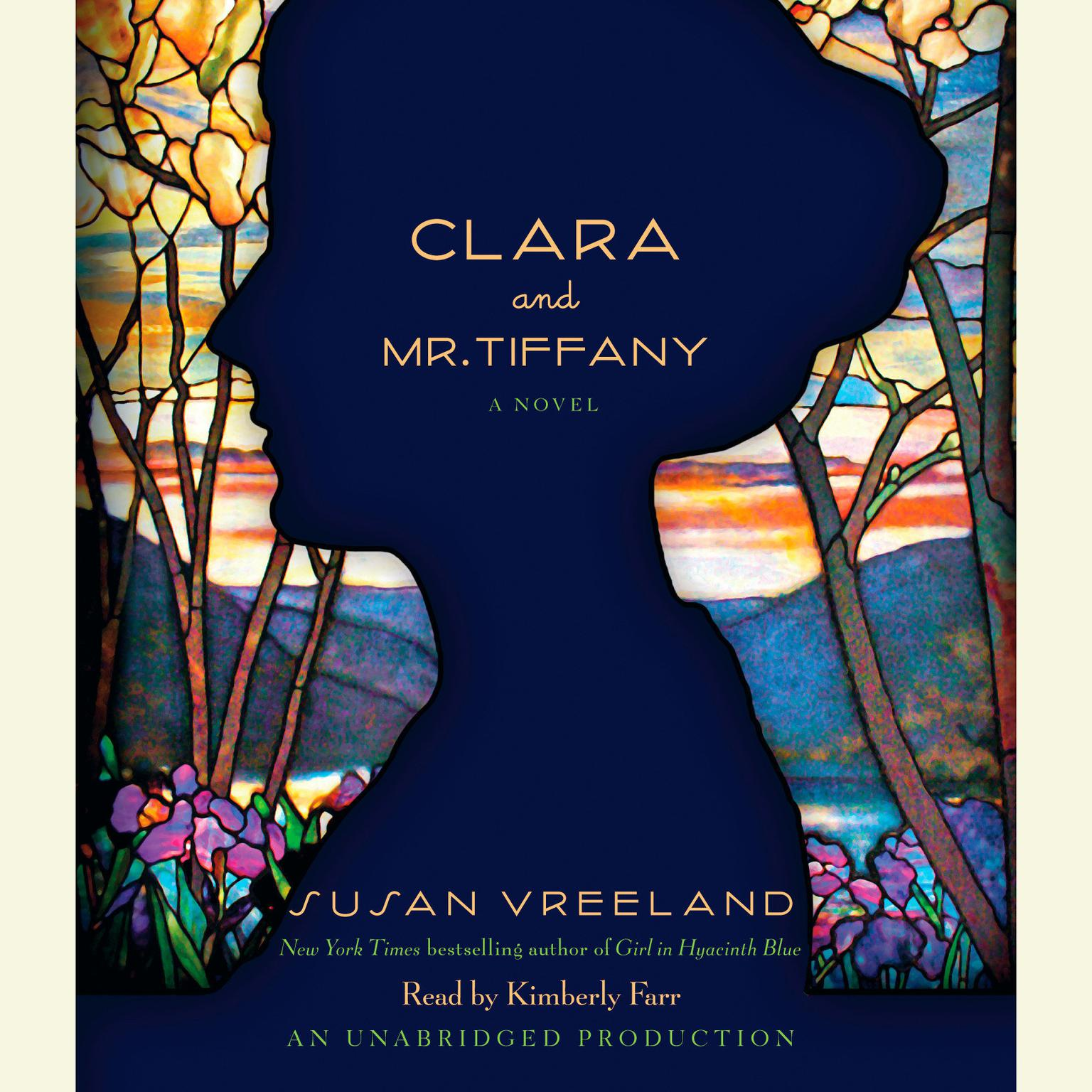 Printable Clara and Mr. Tiffany Audiobook Cover Art