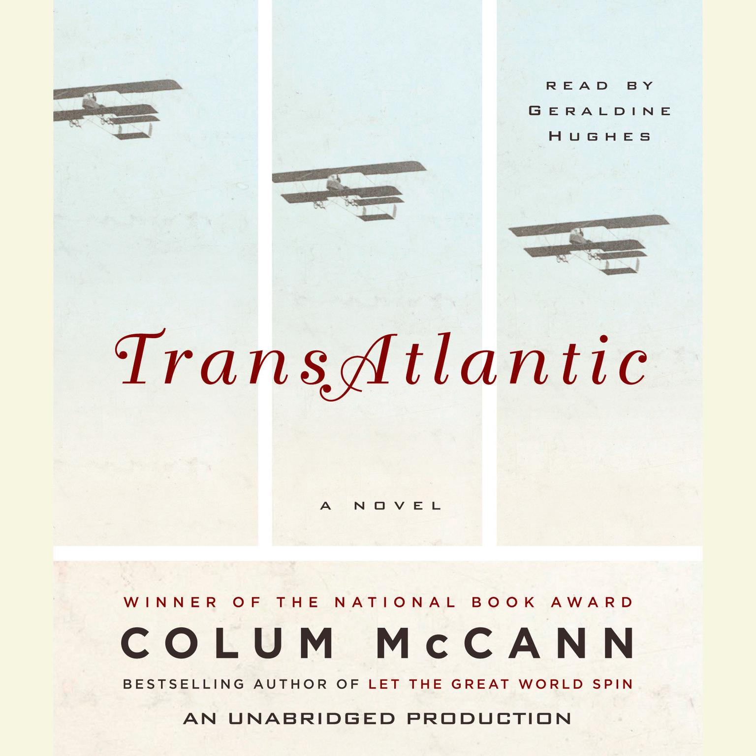 Printable TransAtlantic: A Novel Audiobook Cover Art