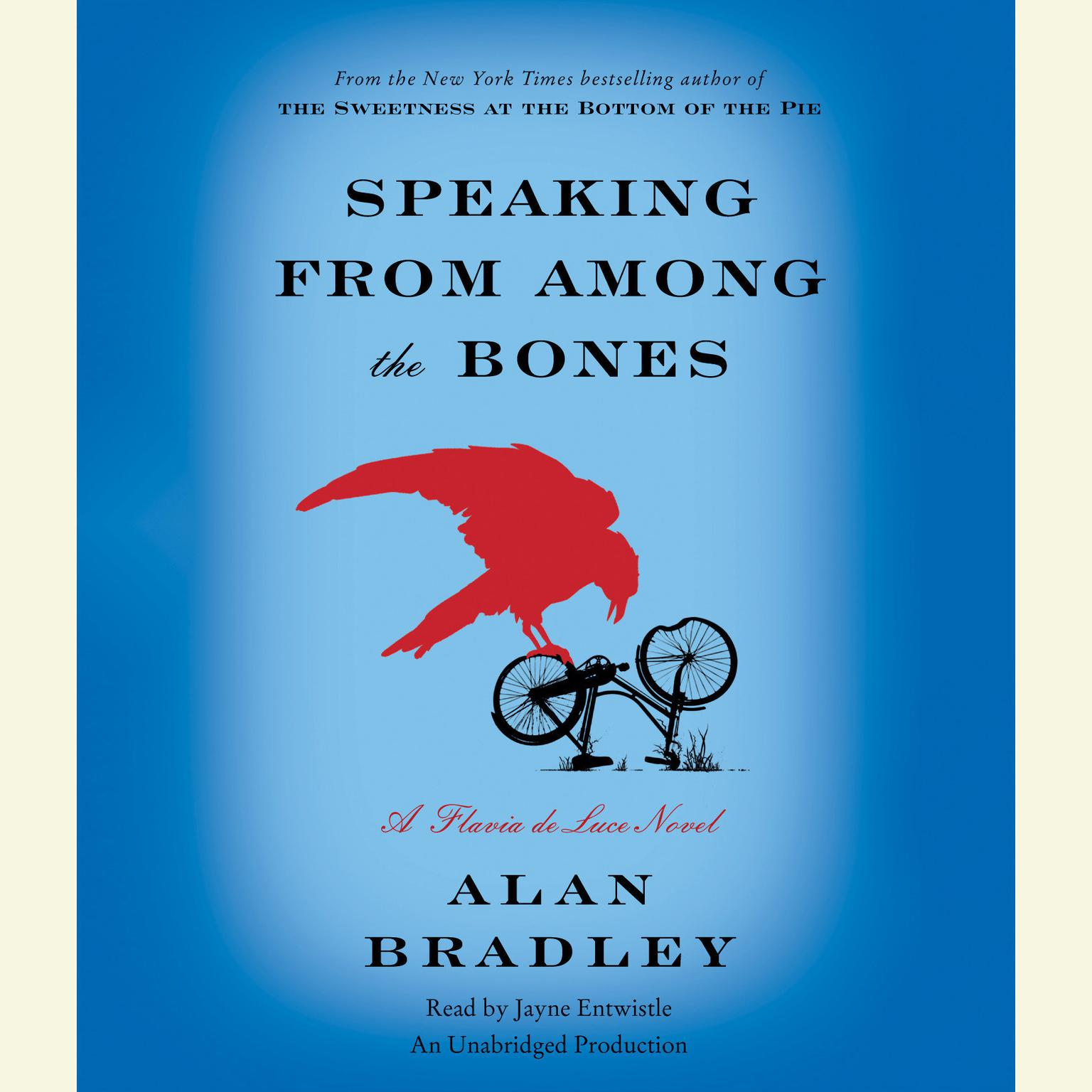 Printable Speaking from Among the Bones: A Flavia de Luce Novel Audiobook Cover Art