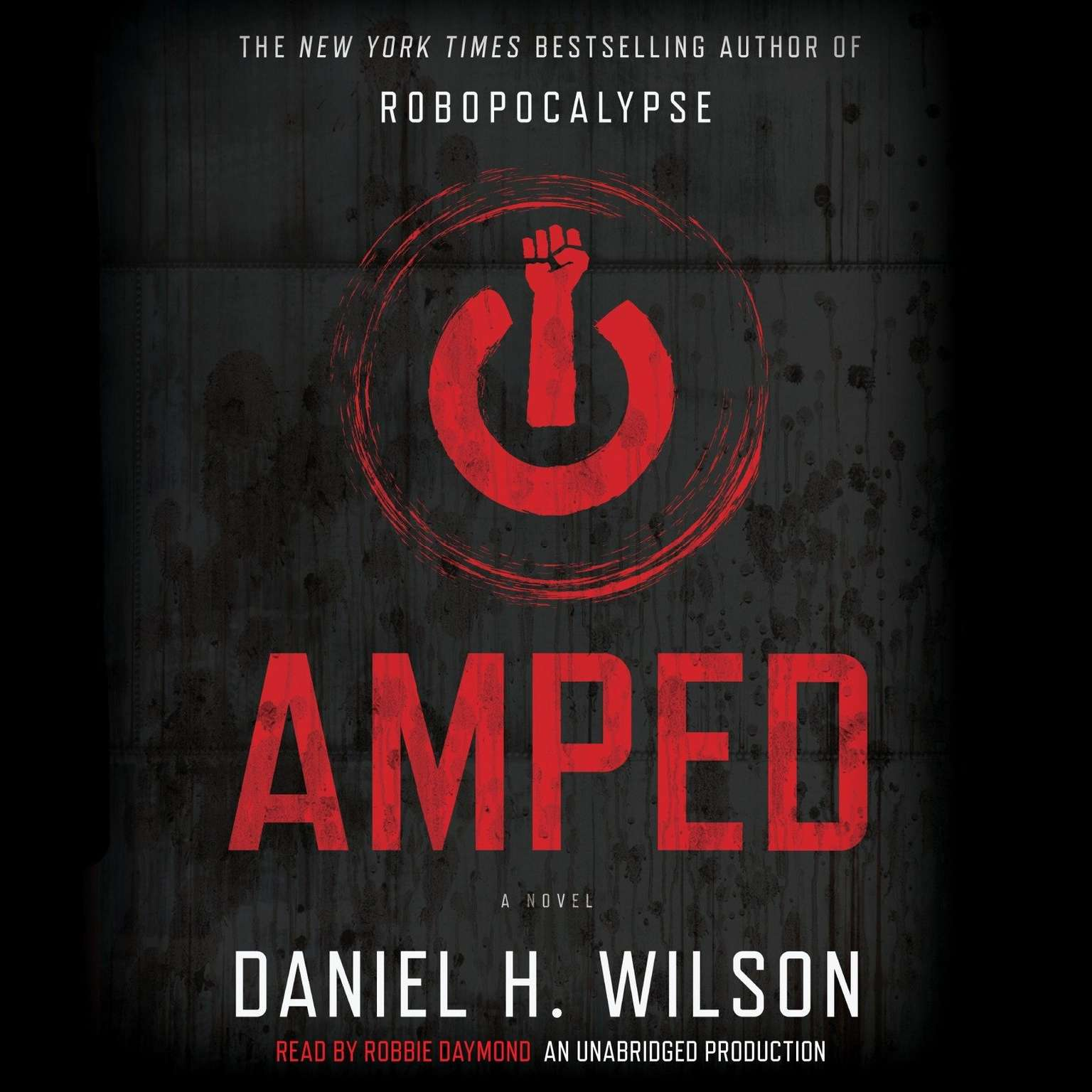 Printable Amped Audiobook Cover Art