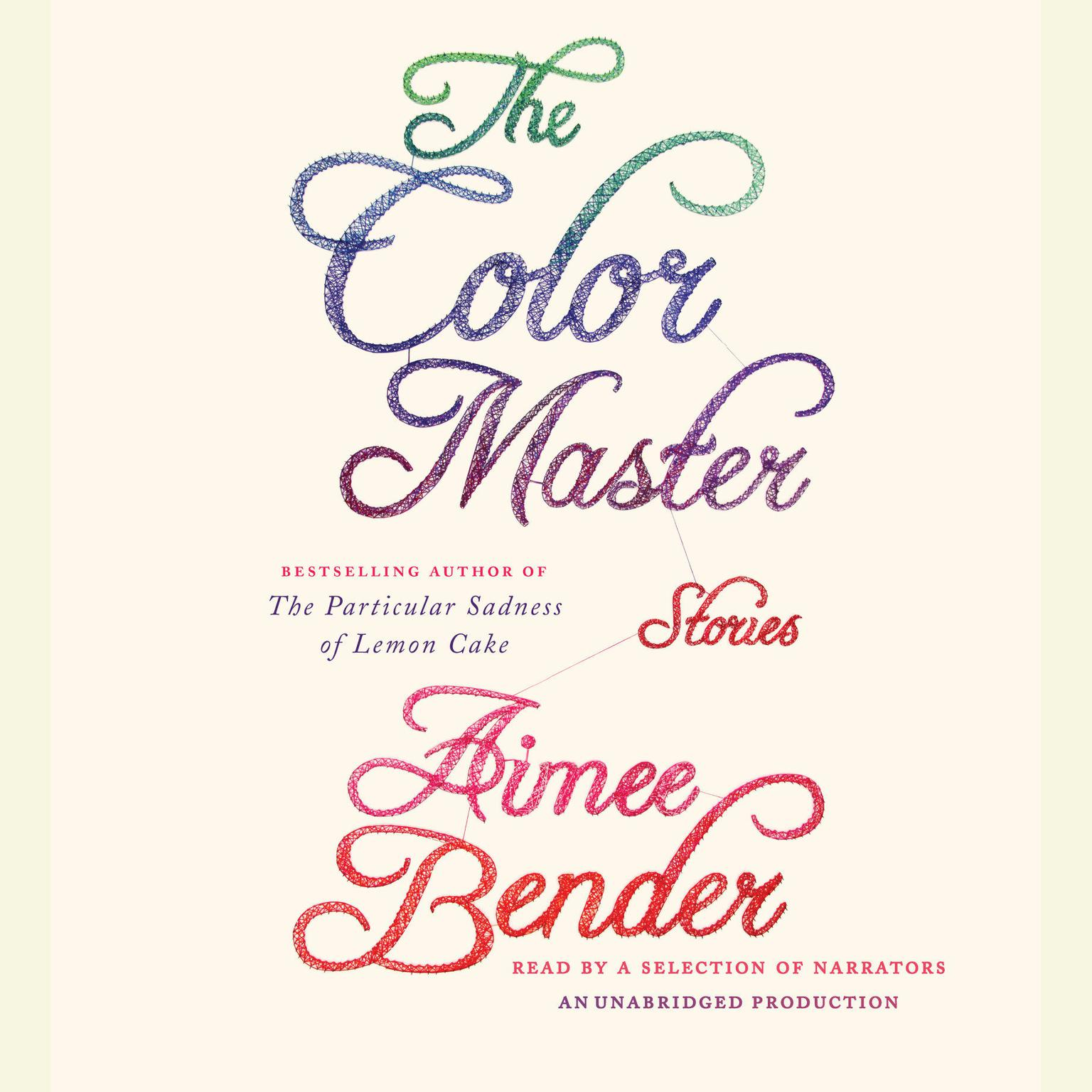 Printable The Color Master: Stories Audiobook Cover Art
