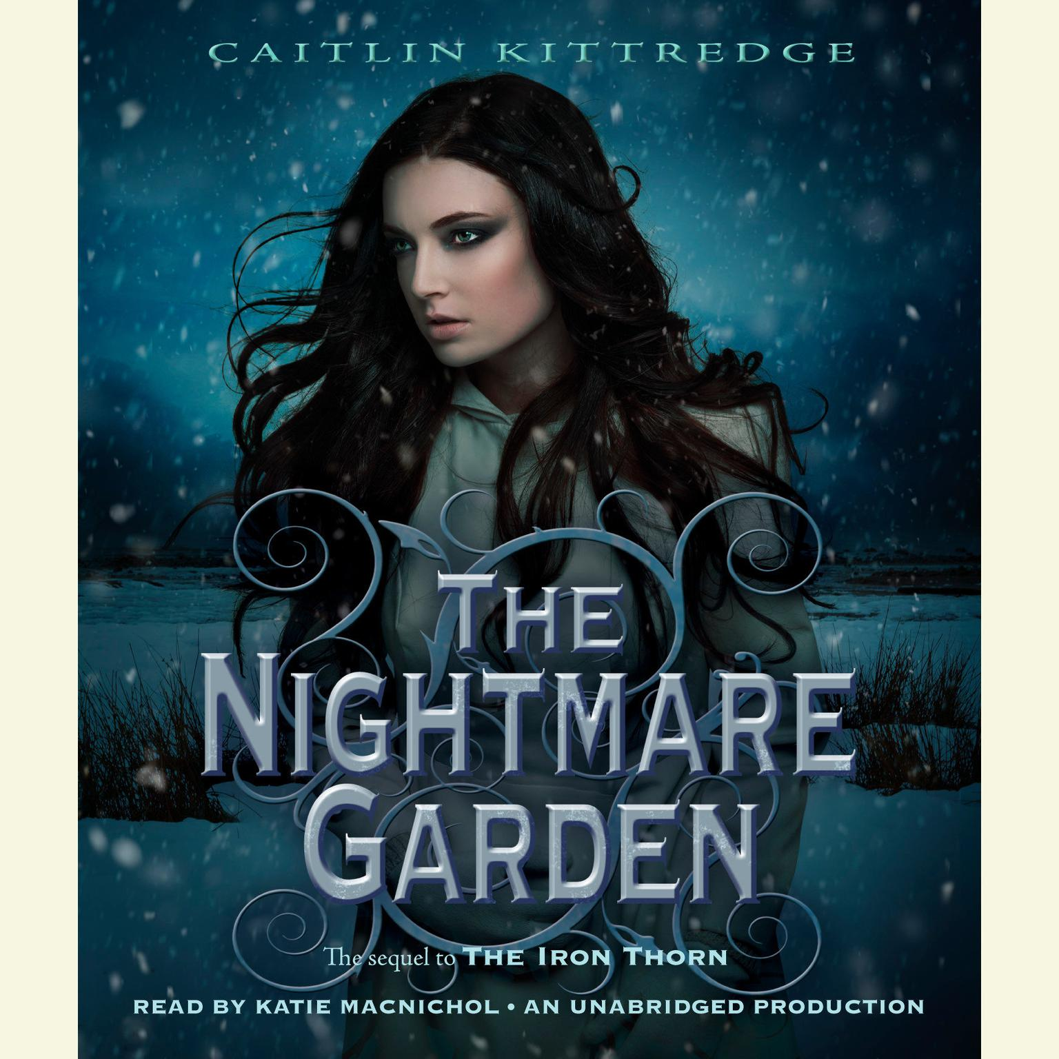 Printable The Nightmare Garden Audiobook Cover Art