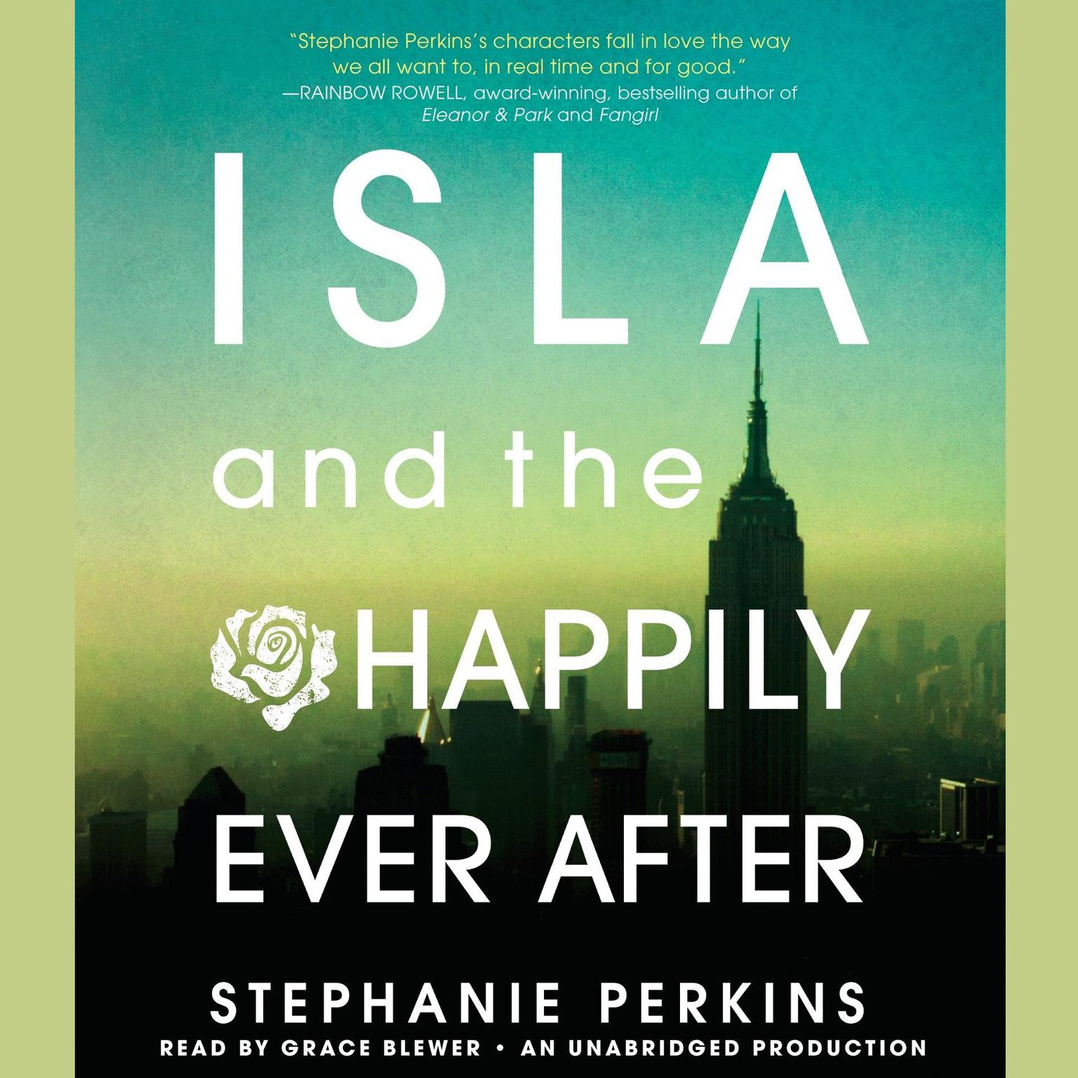 Printable Isla and the Happily Ever After Audiobook Cover Art