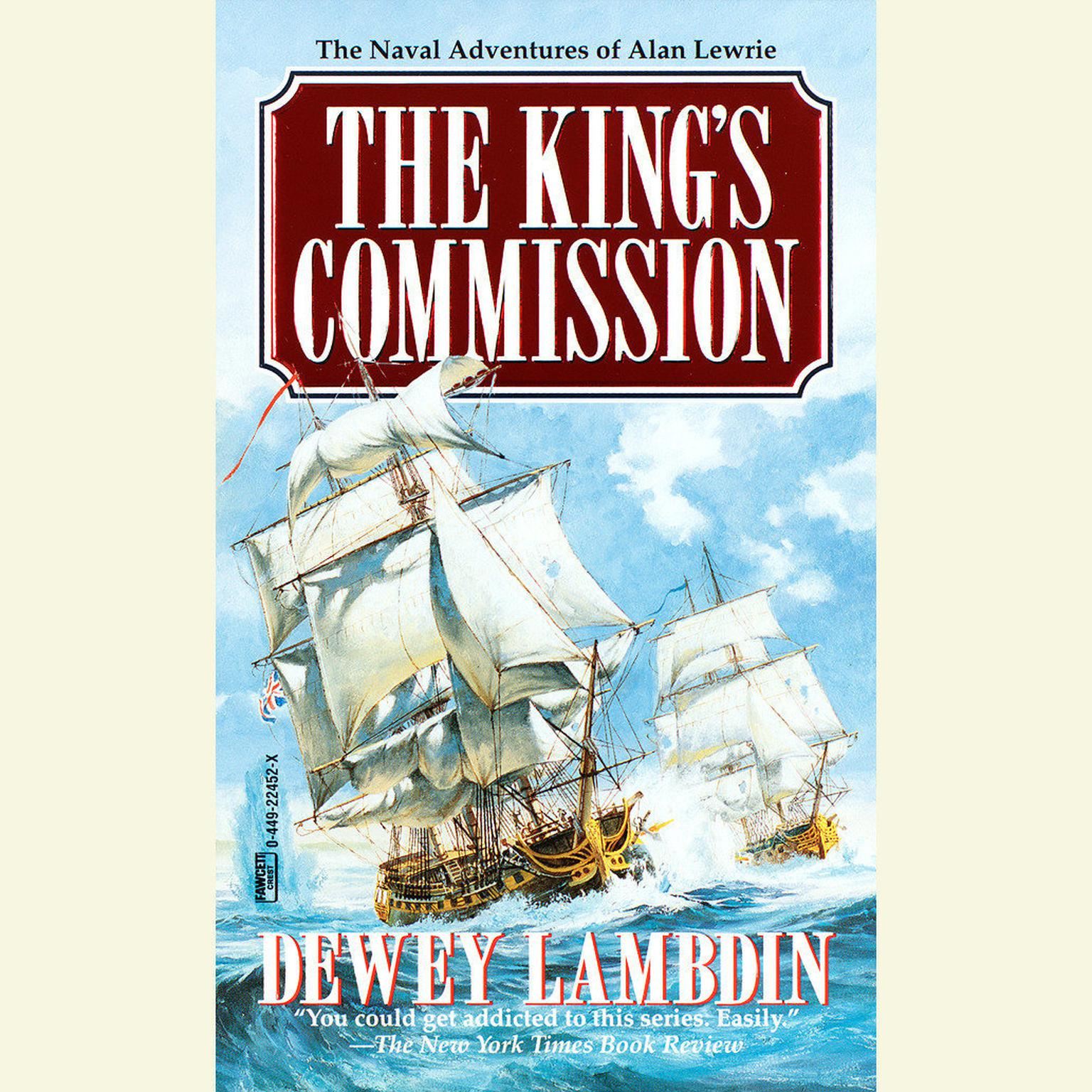 Printable The King's Commission Audiobook Cover Art