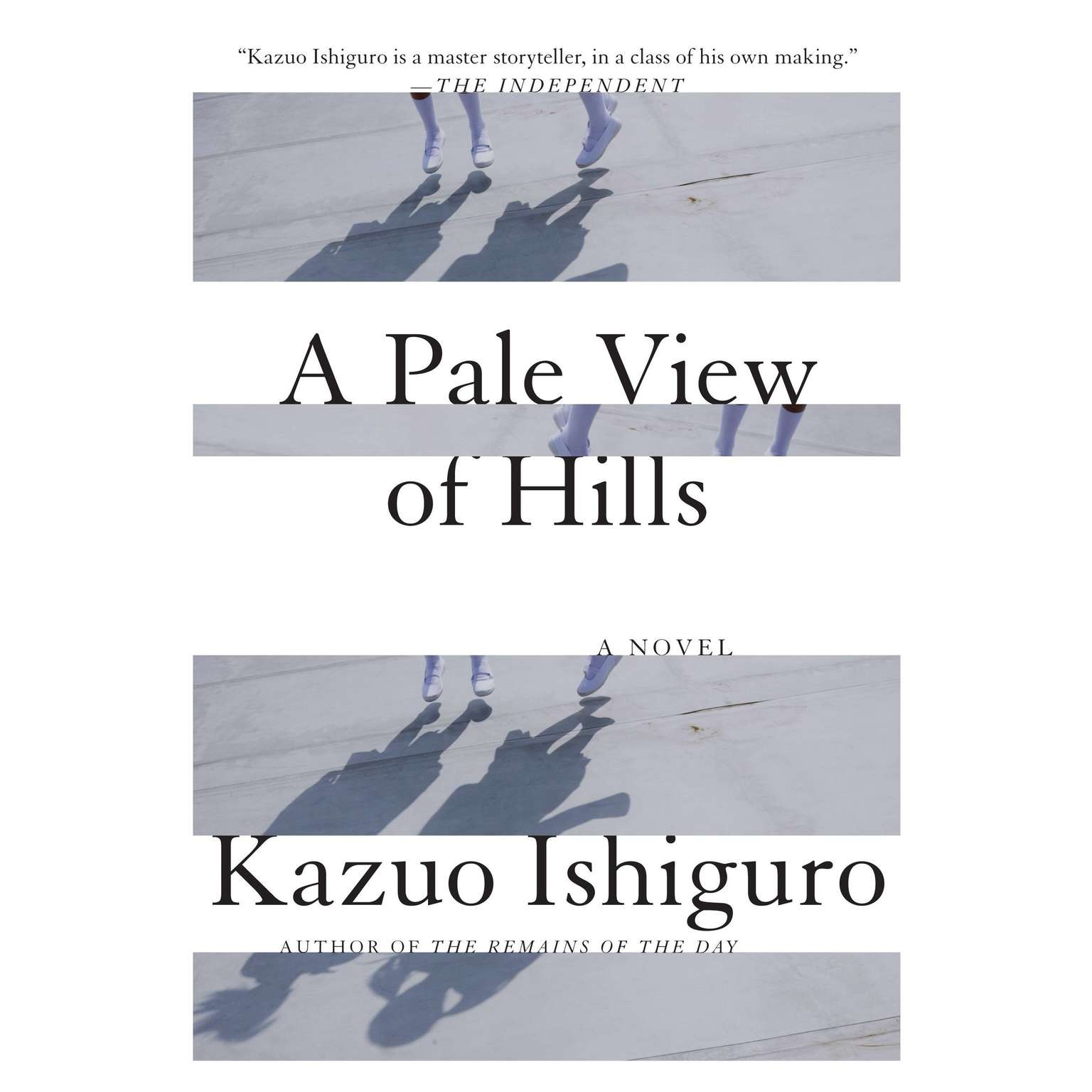 Printable A Pale View of Hills Audiobook Cover Art