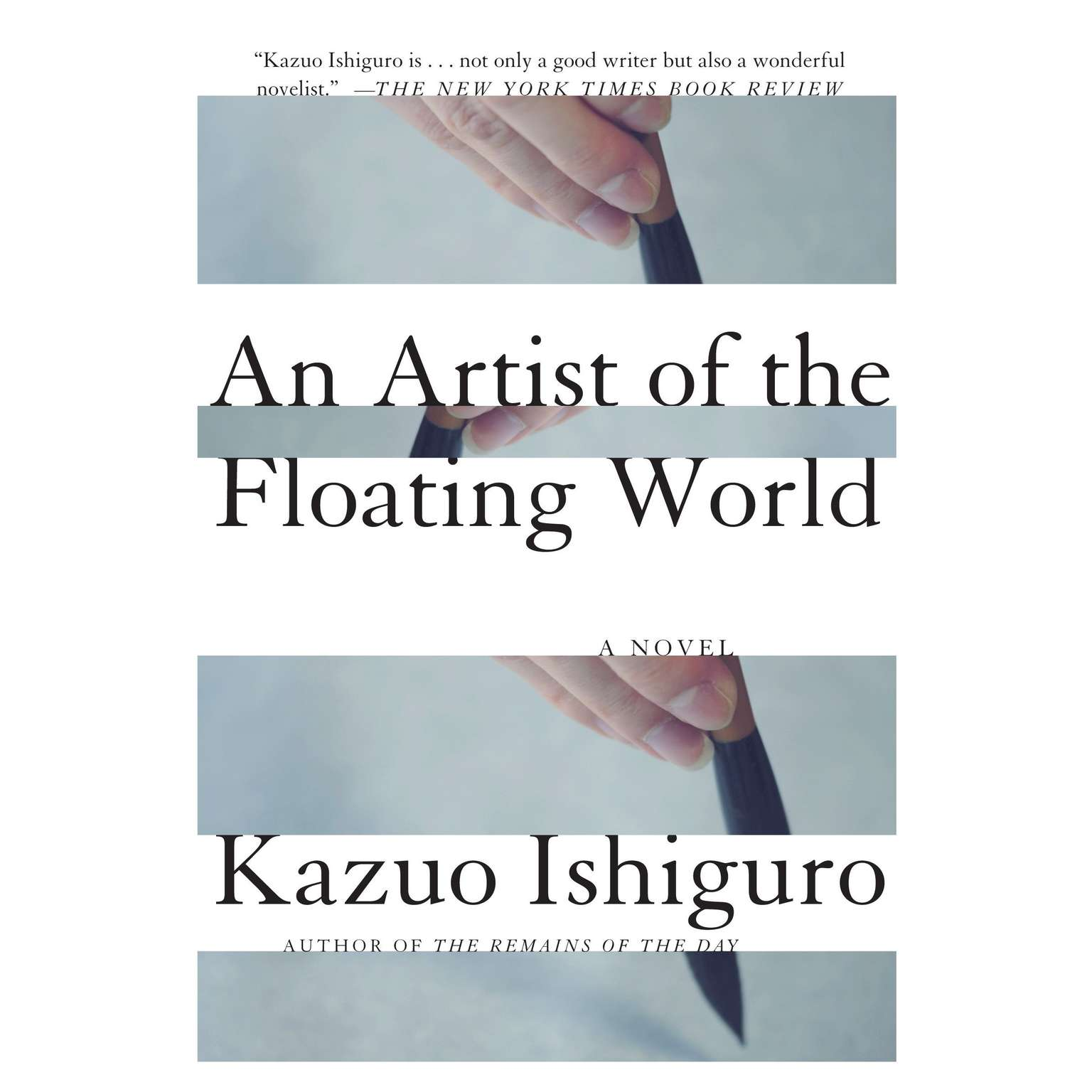 Printable An Artist of the Floating World Audiobook Cover Art