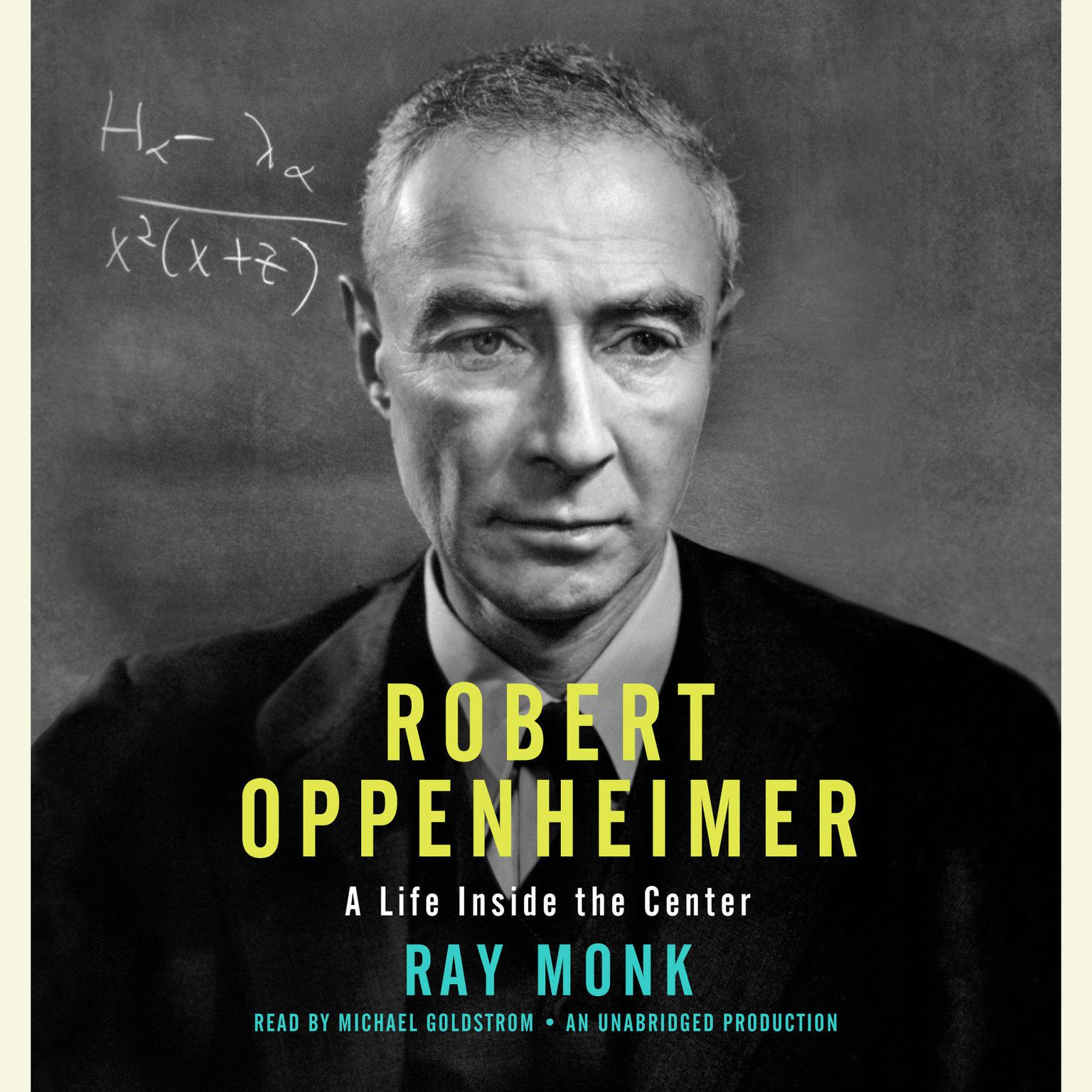 Printable Robert Oppenheimer: A Life Inside the Center Audiobook Cover Art