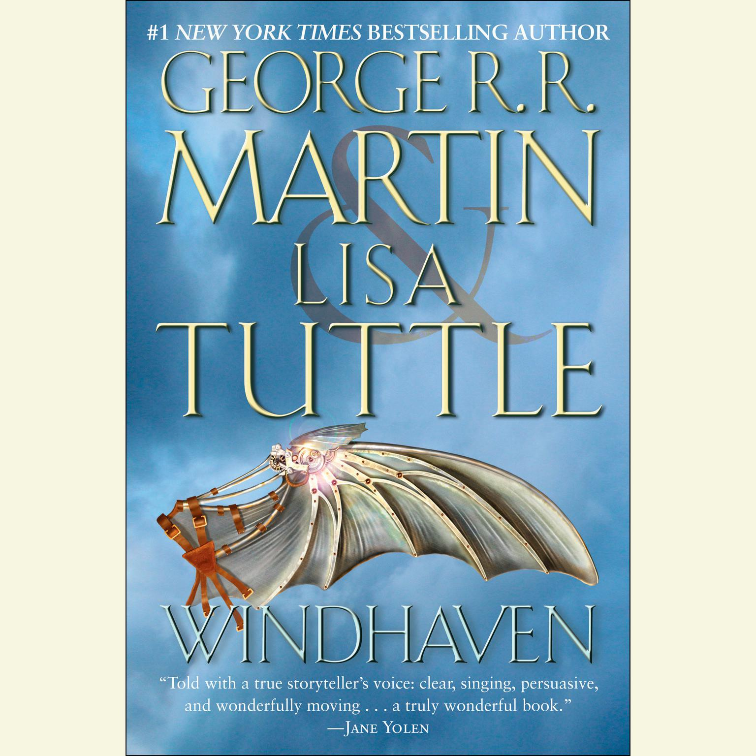 Printable Windhaven Audiobook Cover Art