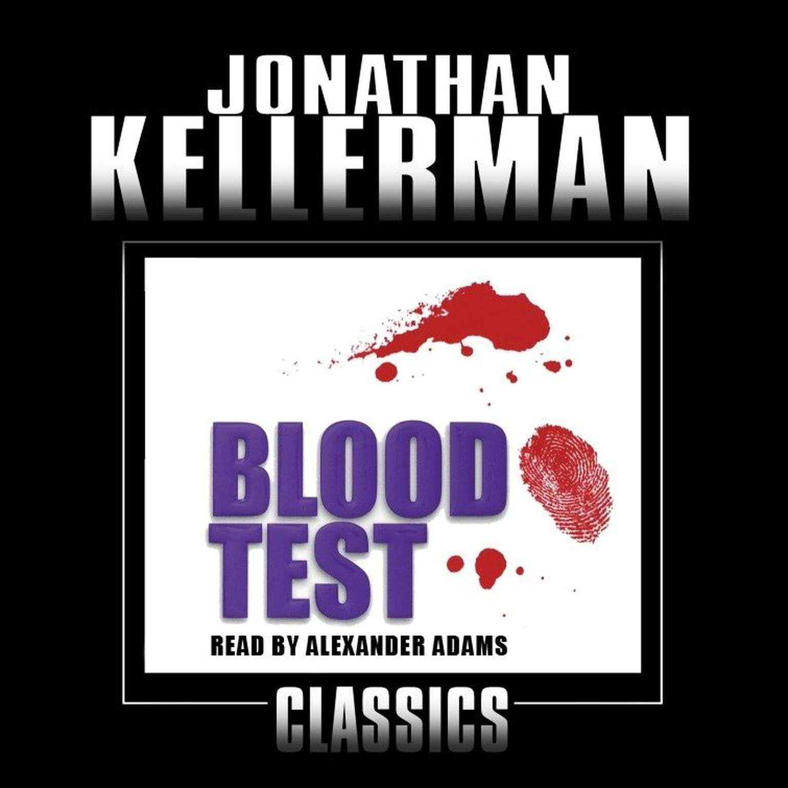 Printable Blood Test Audiobook Cover Art