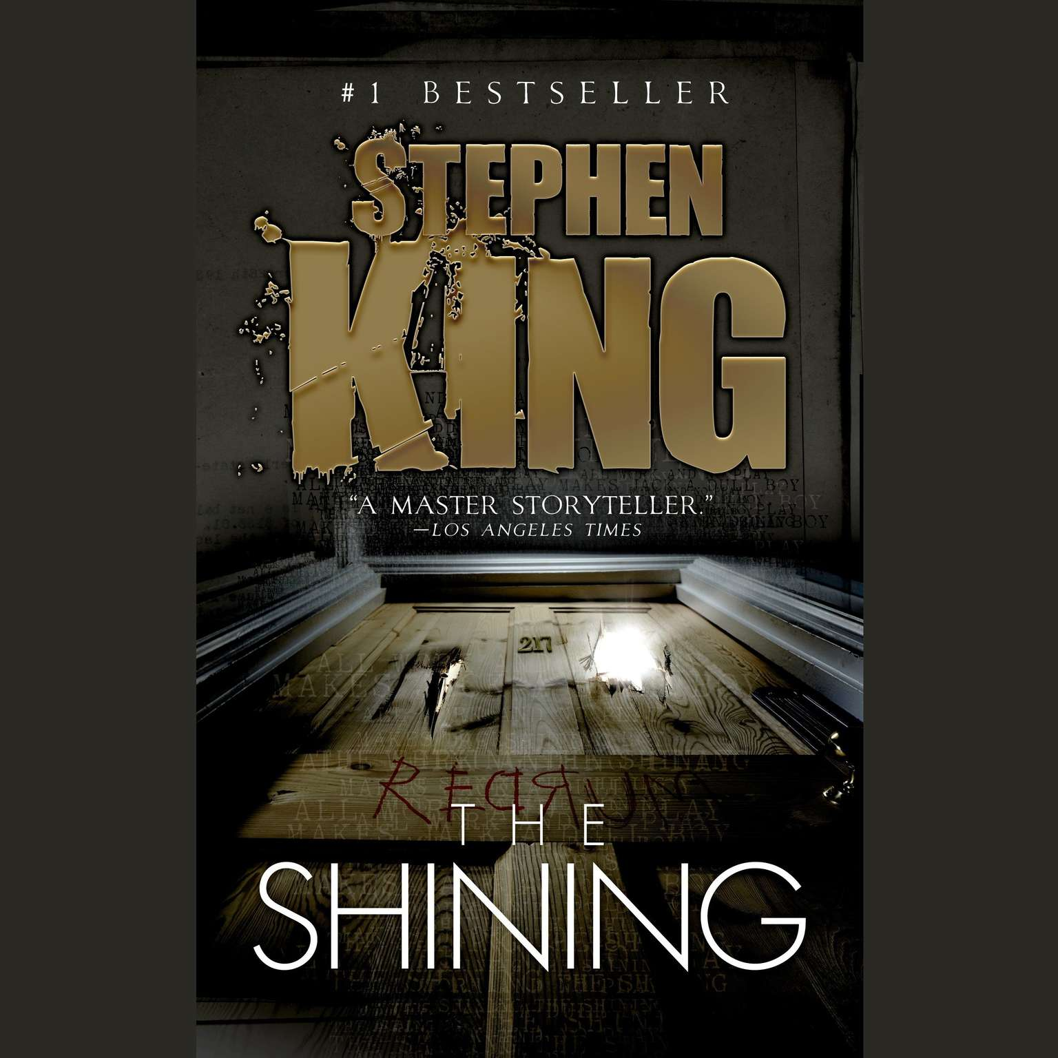 Printable The Shining Audiobook Cover Art