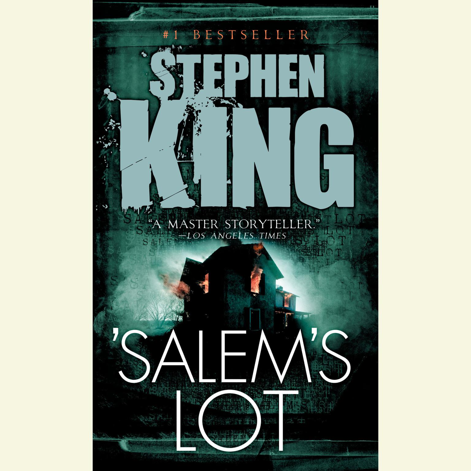 Printable Salem's Lot Audiobook Cover Art