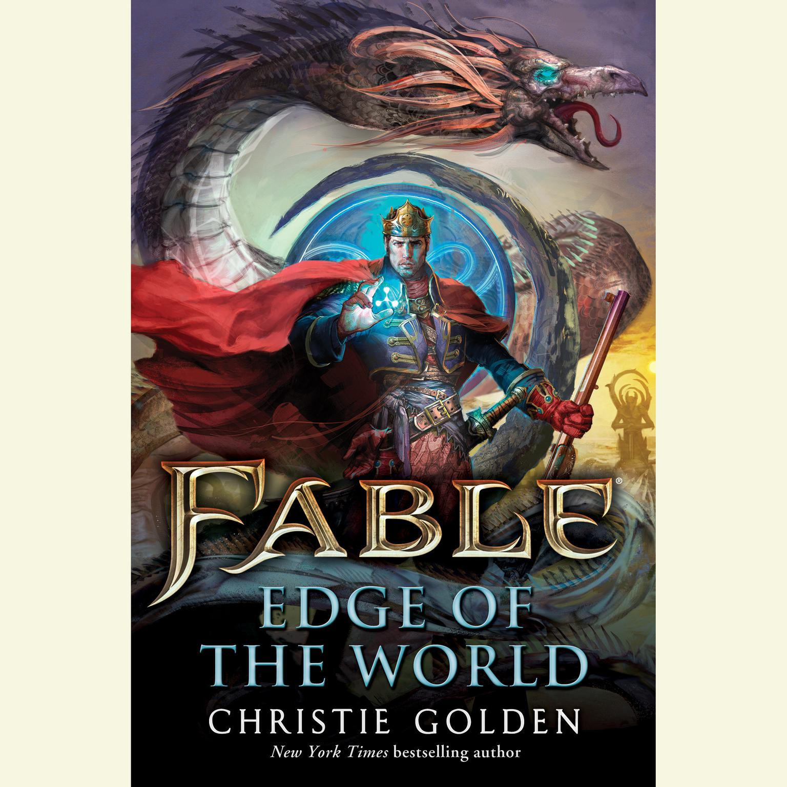 Printable Fable: Edge of the World Audiobook Cover Art