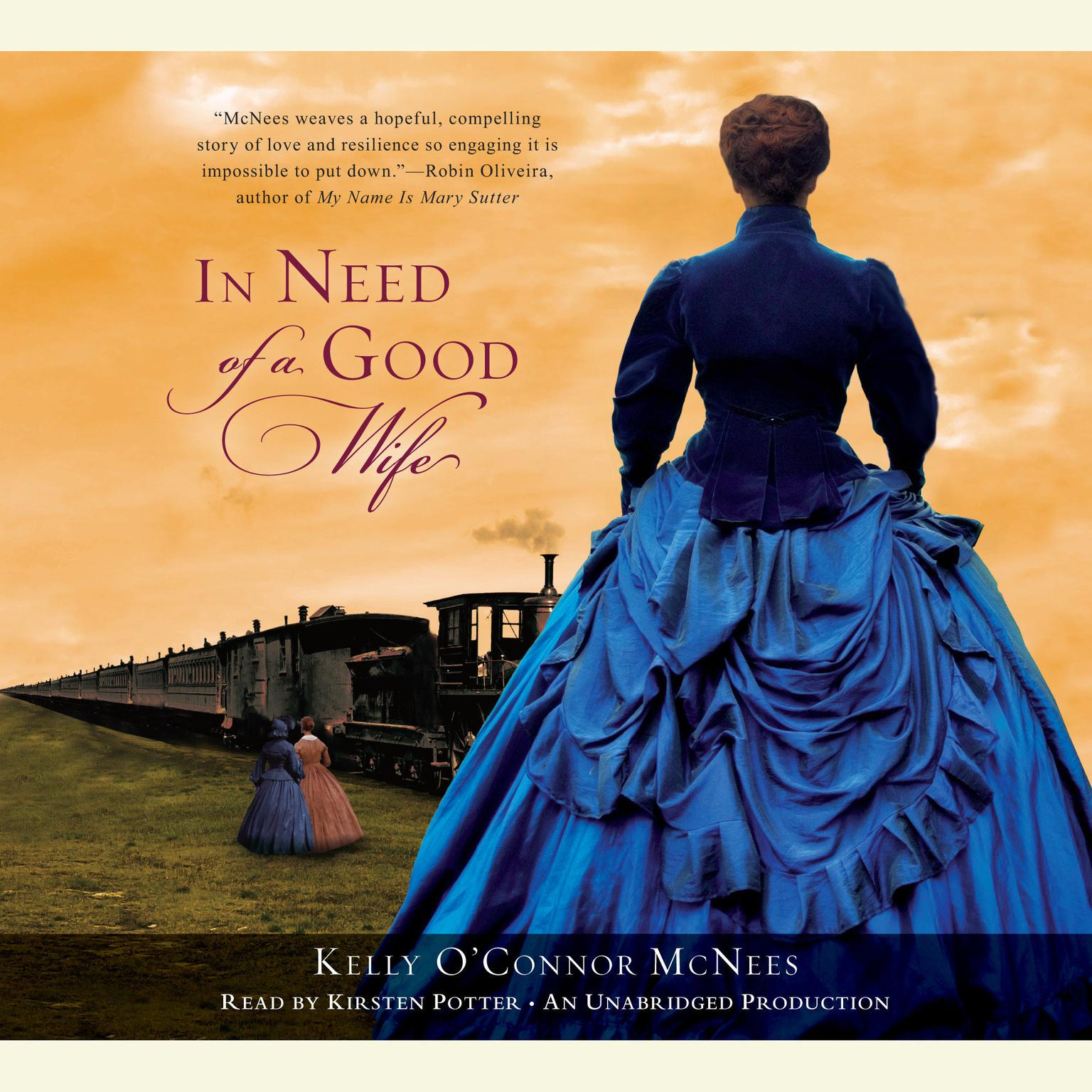 Printable In Need of a Good Wife Audiobook Cover Art