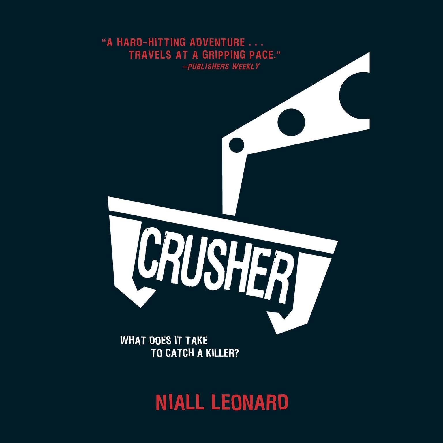 Printable Crusher Audiobook Cover Art