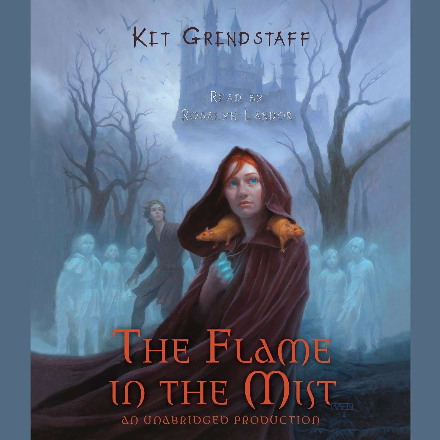Printable The Flame in the Mist Audiobook Cover Art