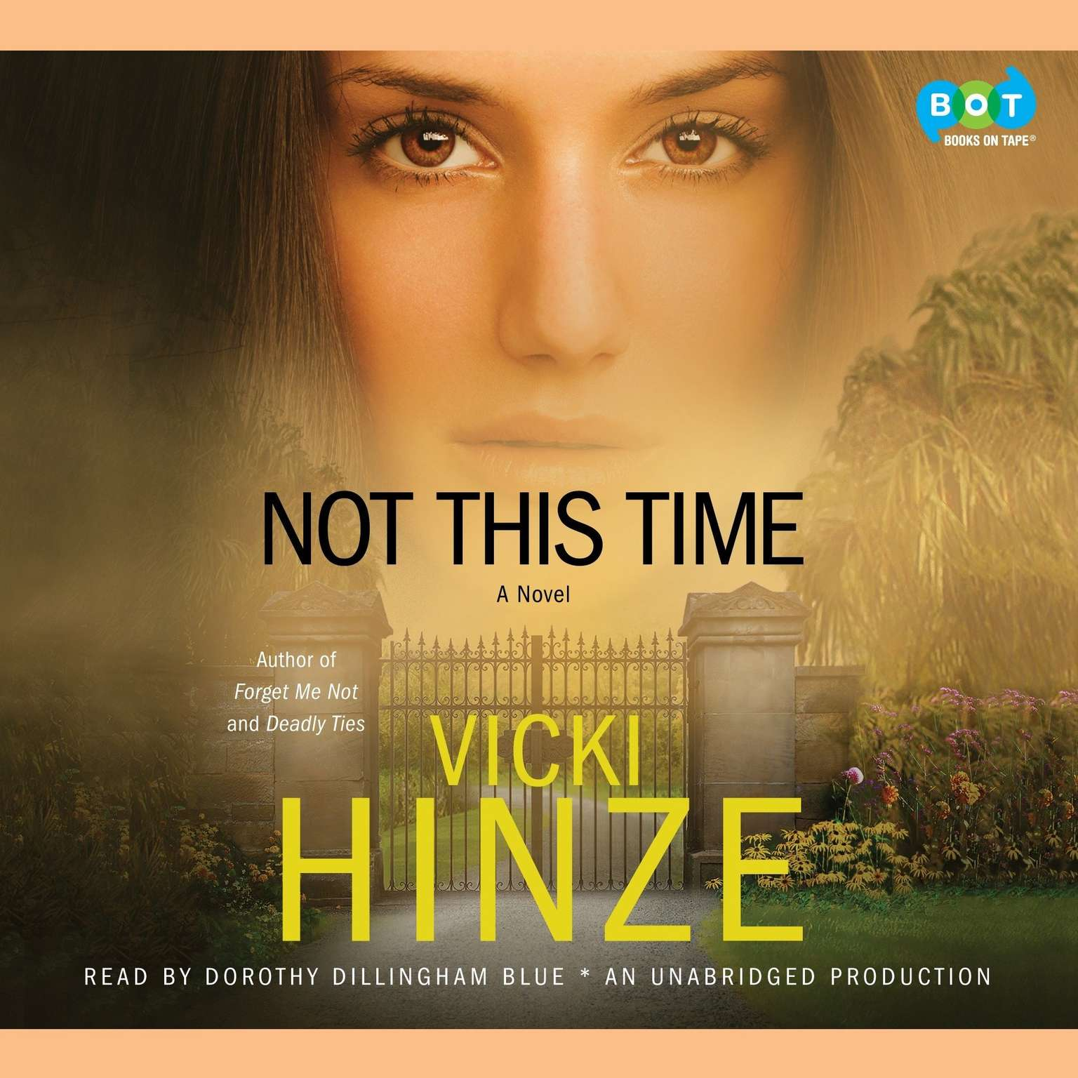 Printable Not This Time: A Novel Audiobook Cover Art