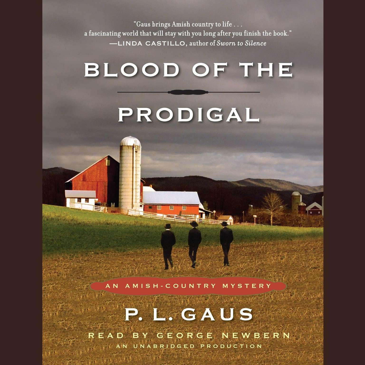 Printable Blood of the Prodigal Audiobook Cover Art