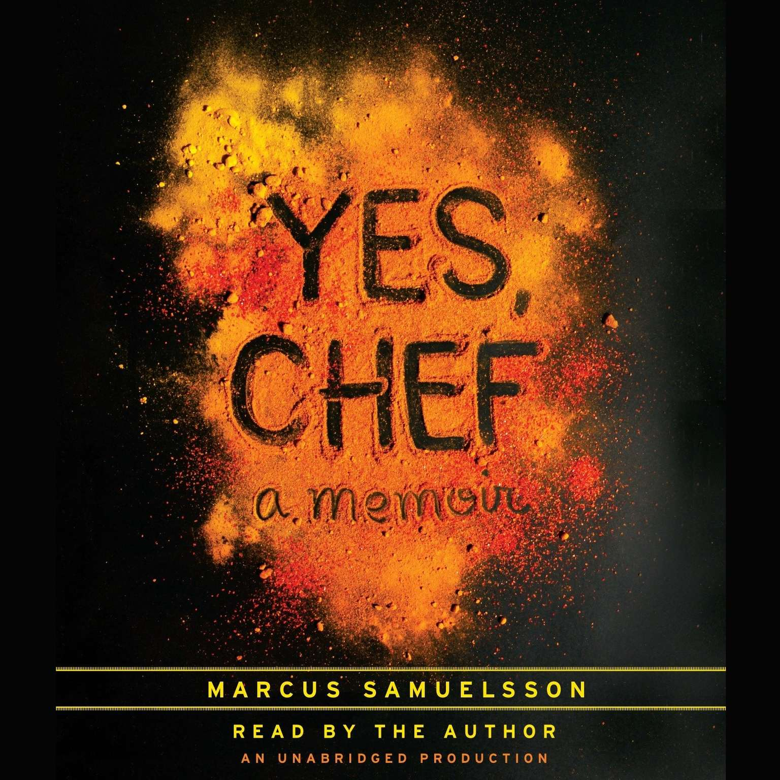 Printable Yes, Chef: A Memoir Audiobook Cover Art