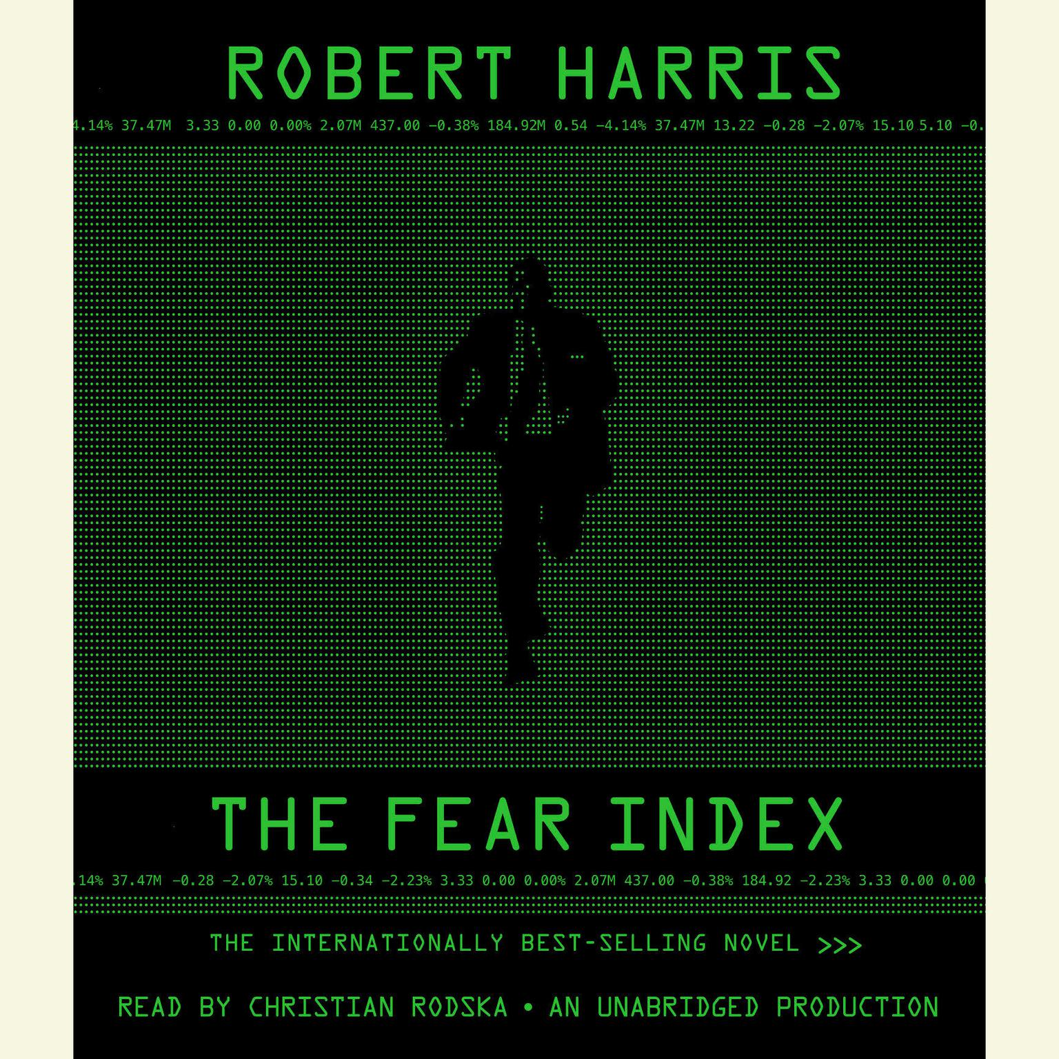 Printable The Fear Index Audiobook Cover Art