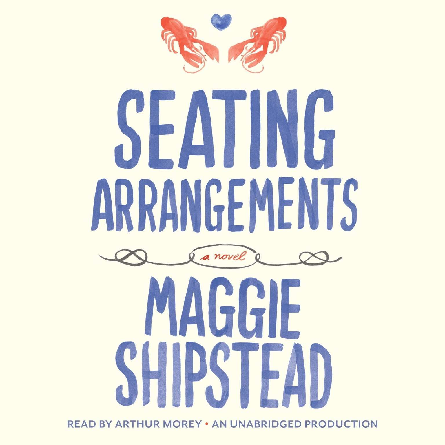 Printable Seating Arrangements Audiobook Cover Art