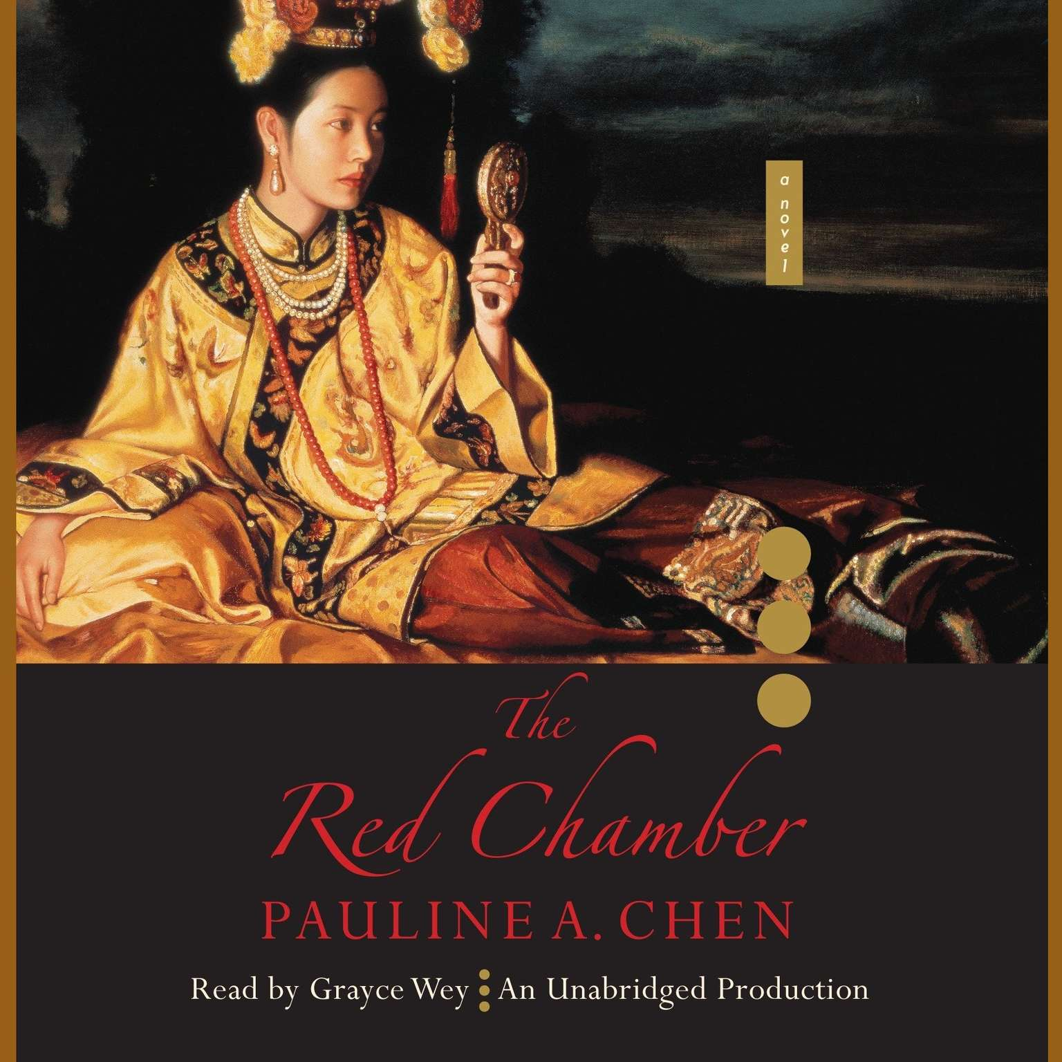 Printable The Red Chamber Audiobook Cover Art