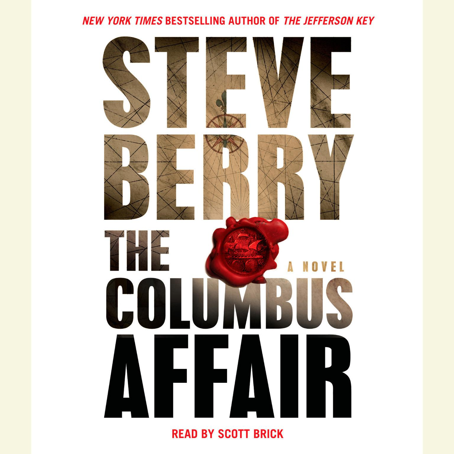 Printable The Columbus Affair: A Novel Audiobook Cover Art