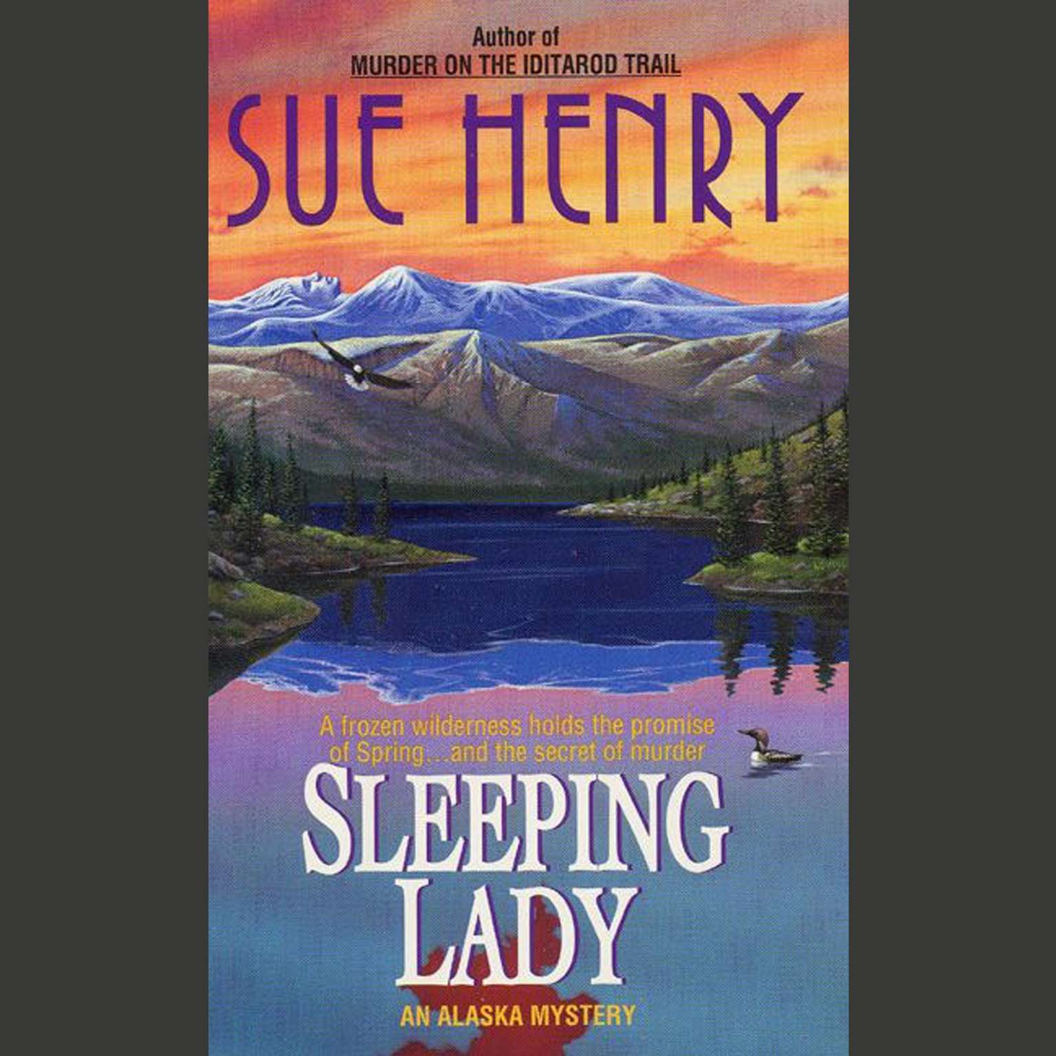 Printable Sleeping Lady: An Alex Jensen Mystery Audiobook Cover Art