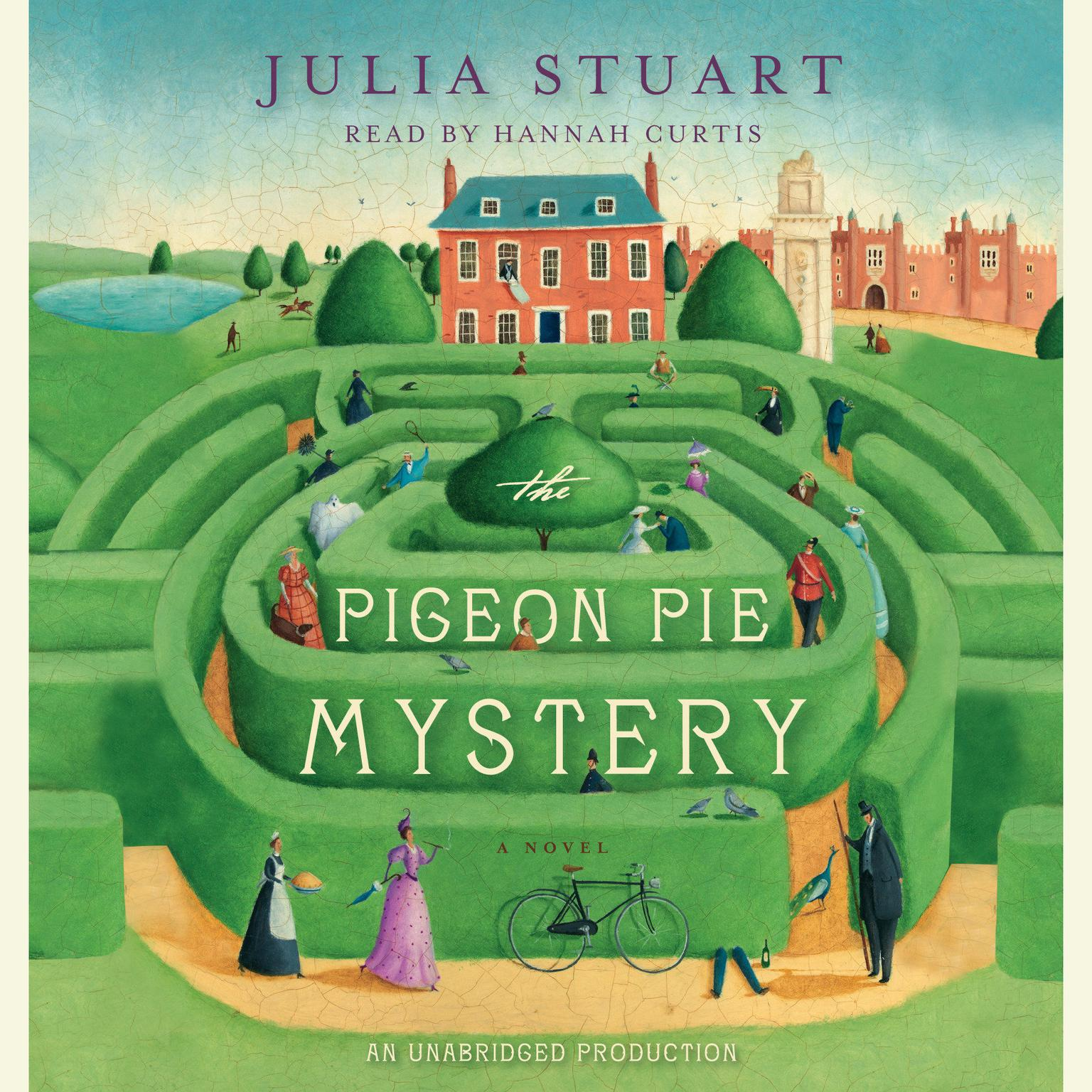 Printable The Pigeon Pie Mystery Audiobook Cover Art