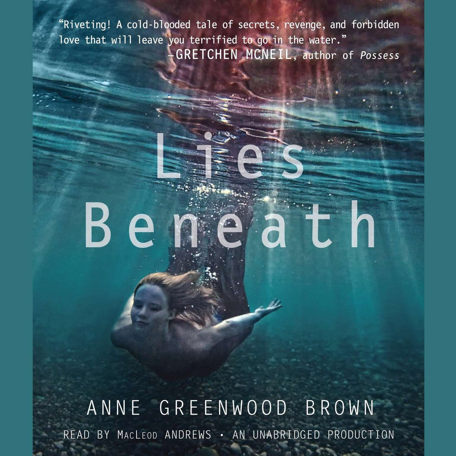 Printable Lies Beneath Audiobook Cover Art