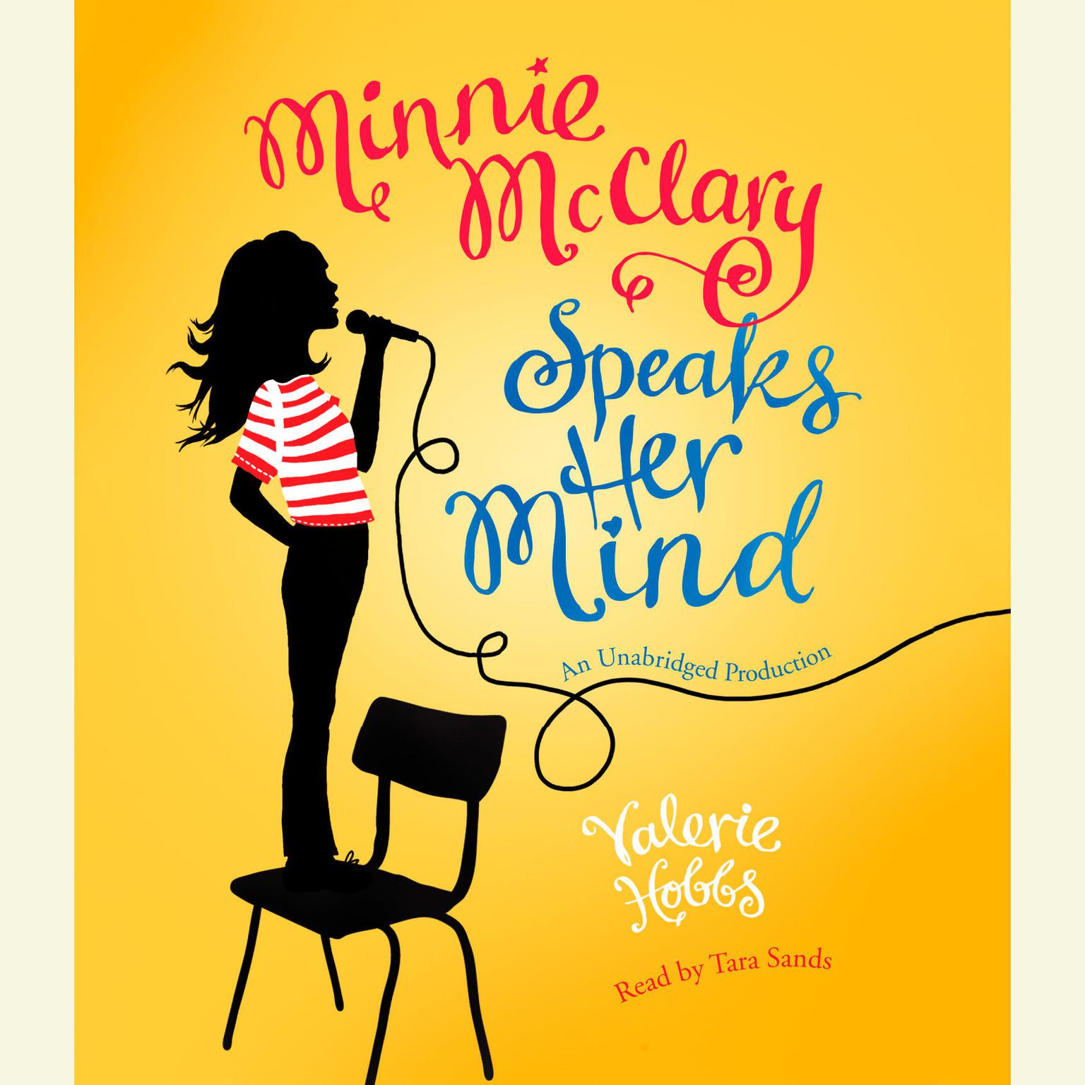Printable Minnie McClary Speaks Her Mind Audiobook Cover Art