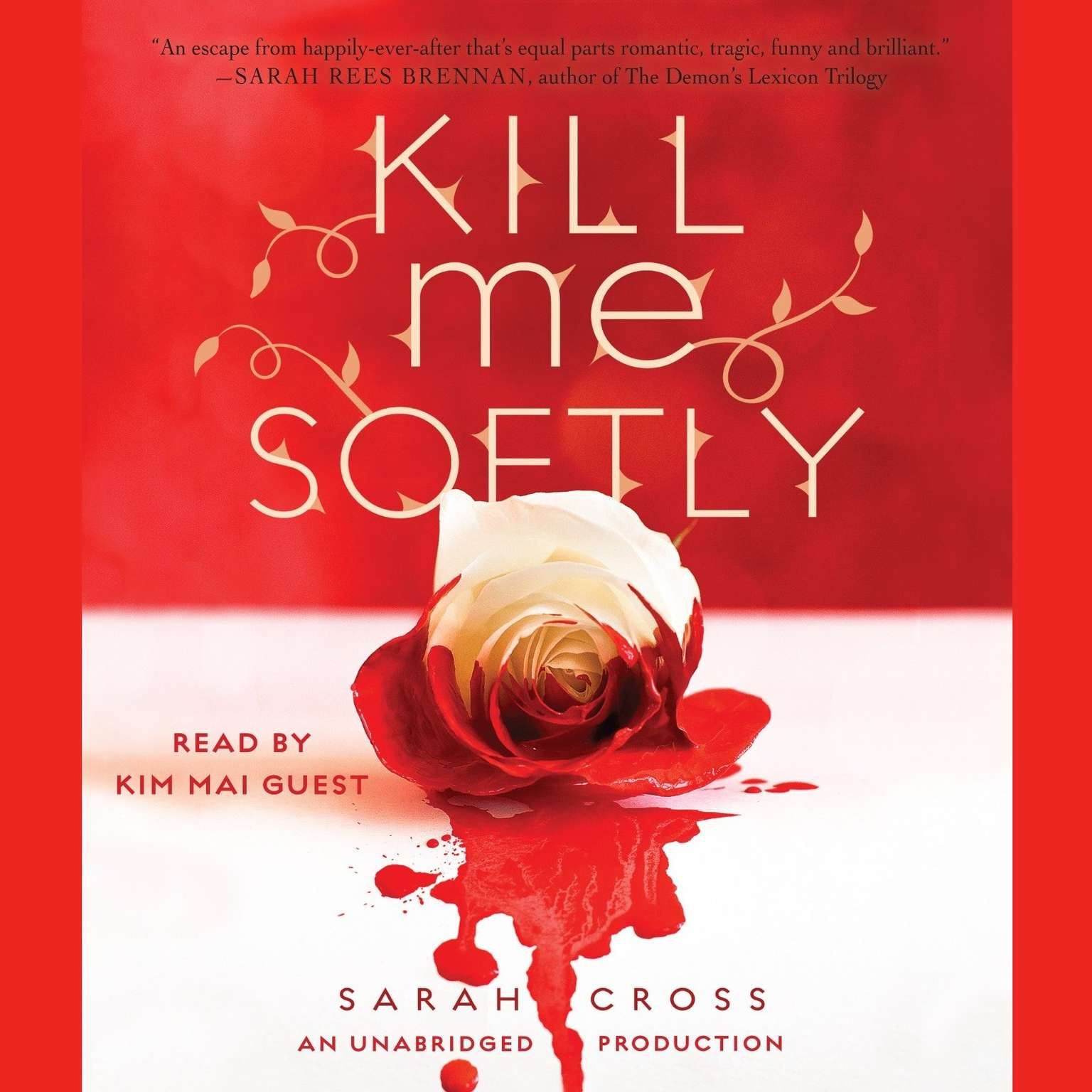 Printable Kill Me Softly Audiobook Cover Art
