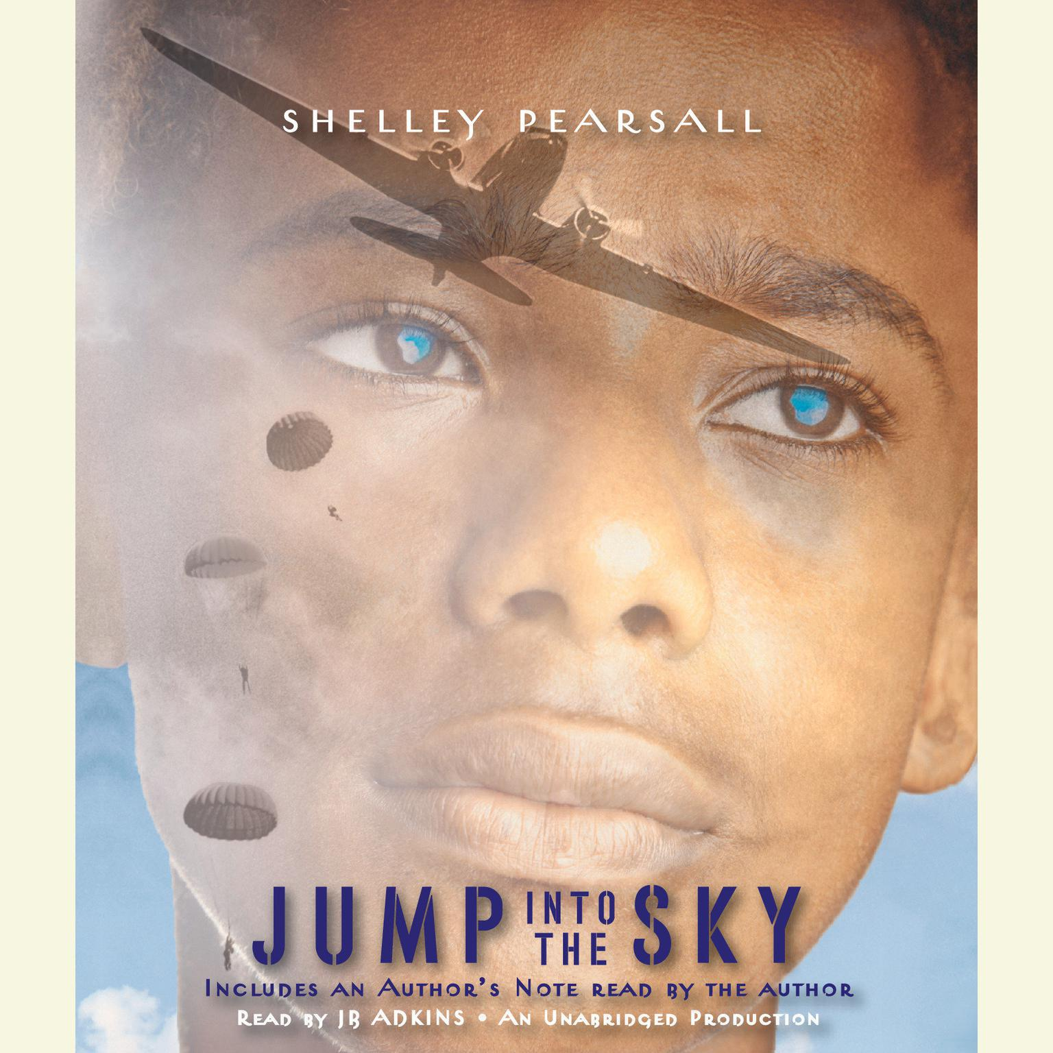 Printable Jump into the Sky Audiobook Cover Art