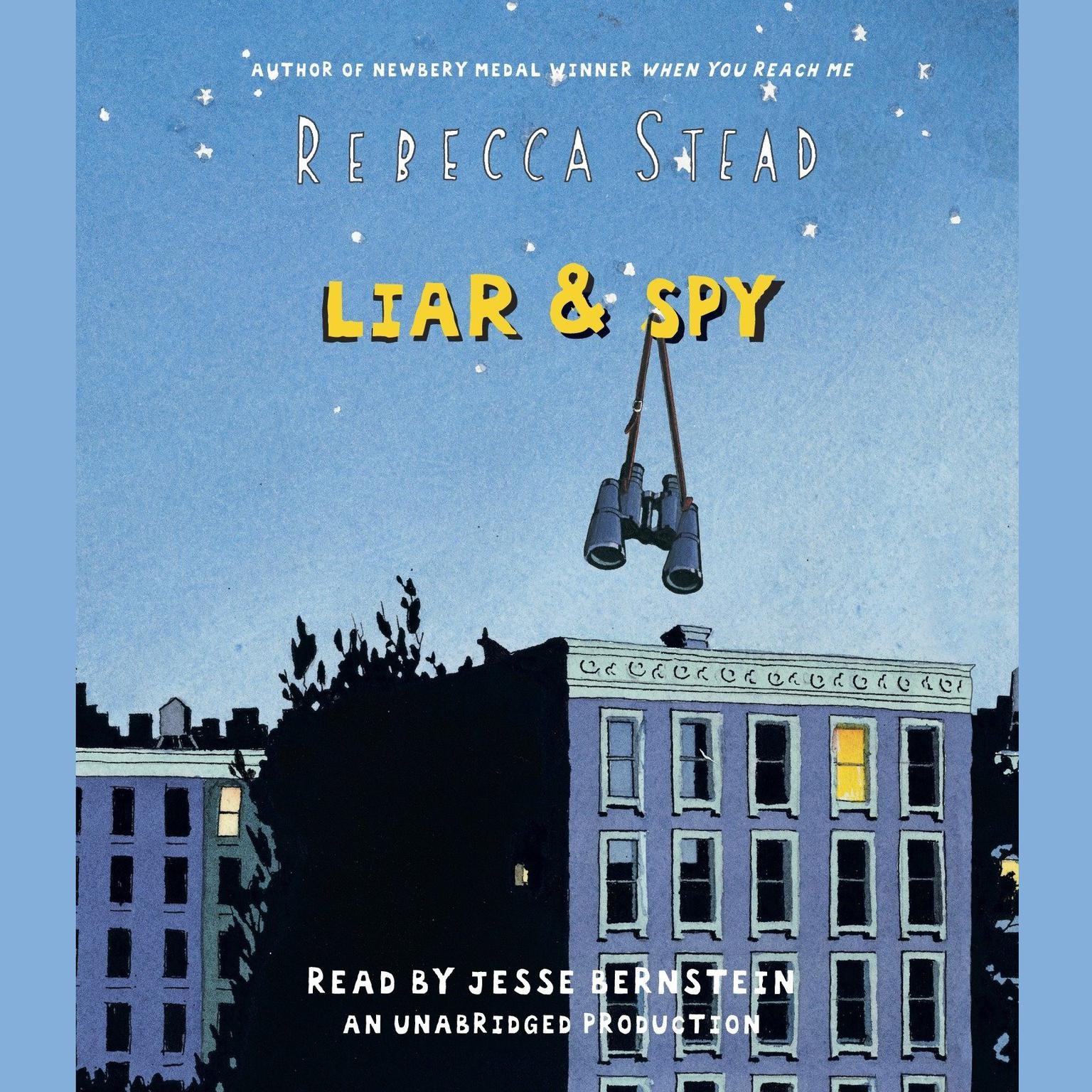 Printable Liar & Spy Audiobook Cover Art