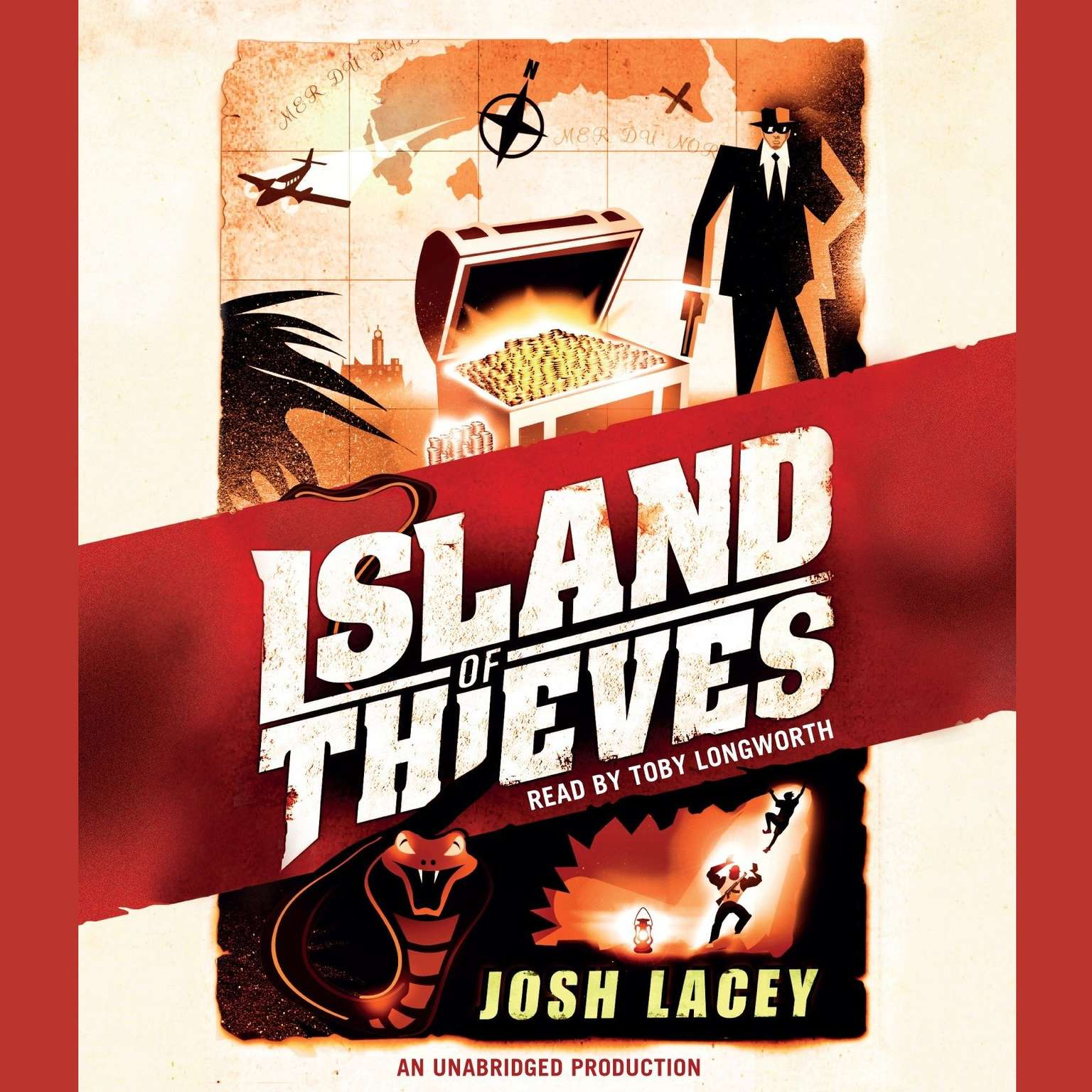 Printable Island of Thieves Audiobook Cover Art