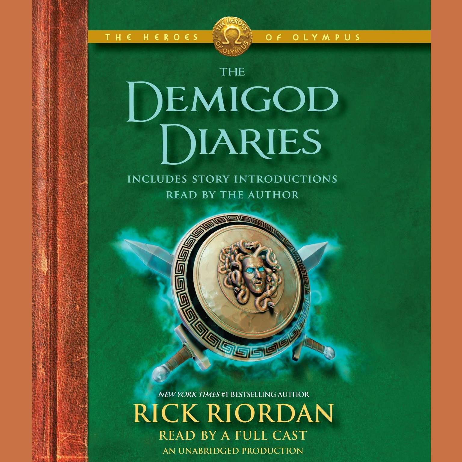 Printable The Heroes of Olympus: The Demigod Diaries Audiobook Cover Art