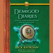 The Heroes of Olympus: The Demigod Diaries Audiobook, by Rick Riordan