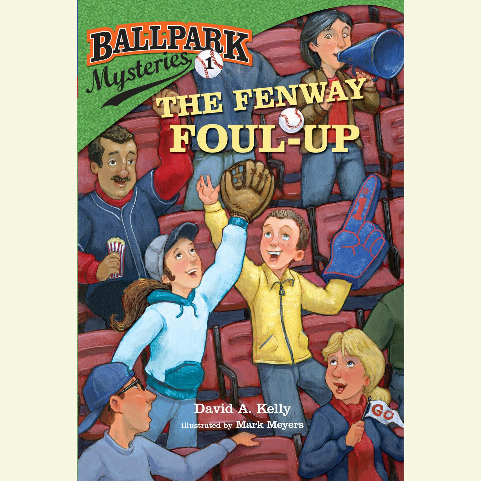 Printable Ballpark Mysteries #1: The Fenway Foul-up Audiobook Cover Art
