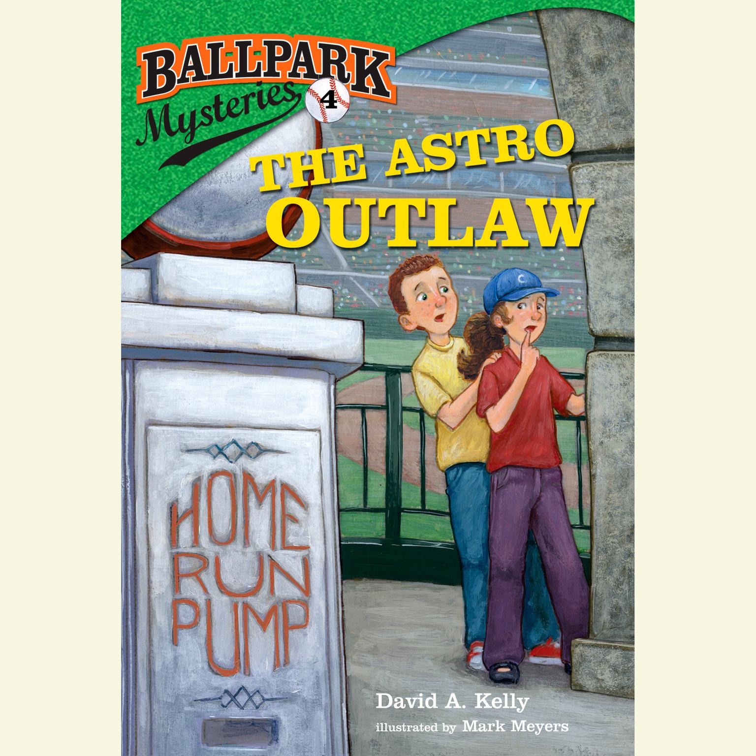 Printable Ballpark Mysteries #4: The Astro Outlaw Audiobook Cover Art